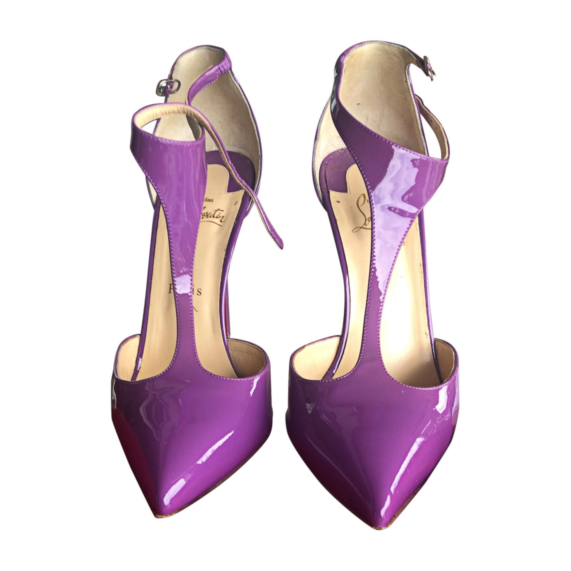 T-Bars CHRISTIAN LOUBOUTIN Purple, mauve, lavender