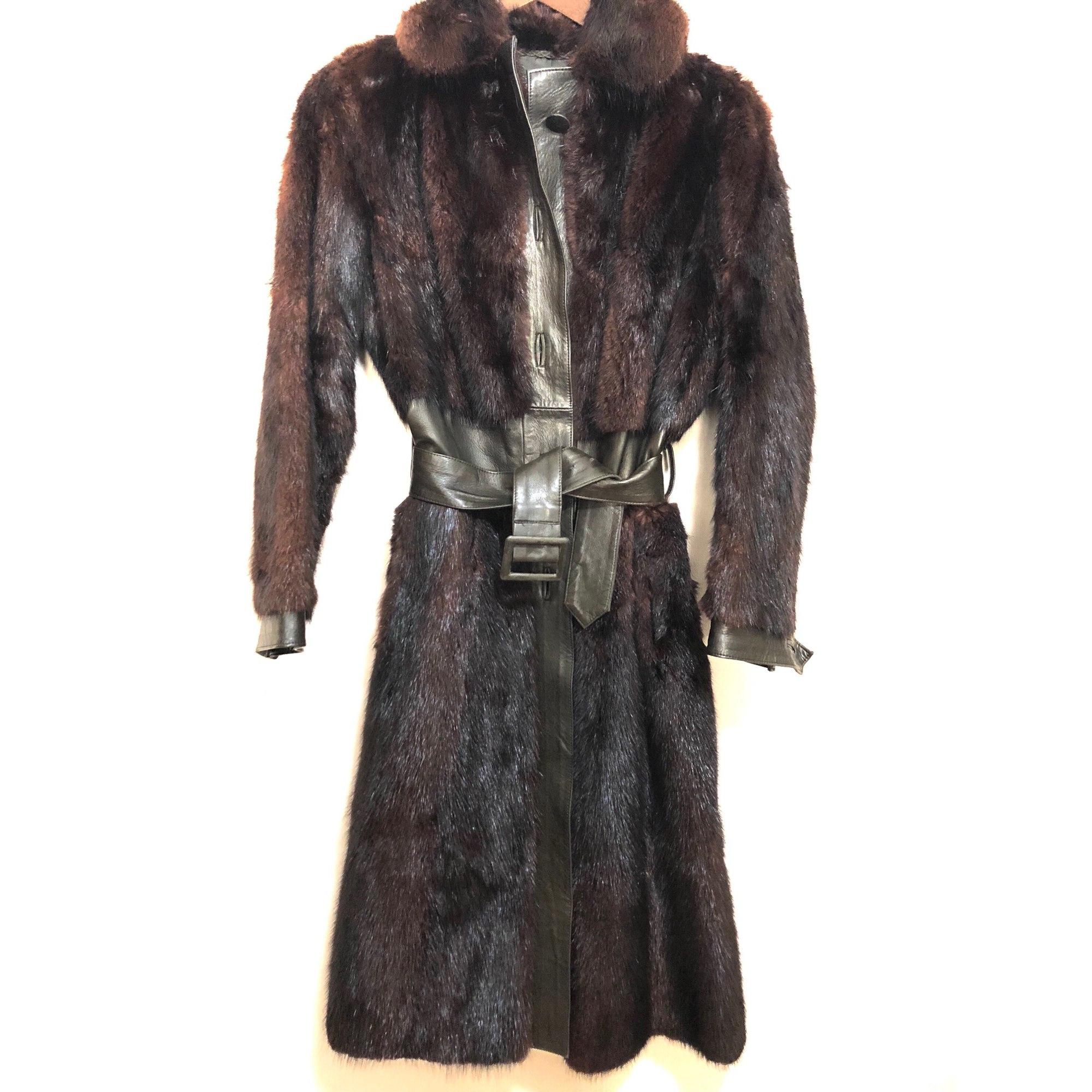 jolie et colorée économiser jusqu'à 80% coupe classique Manteau en fourrure RODOLPHE BALSAM
