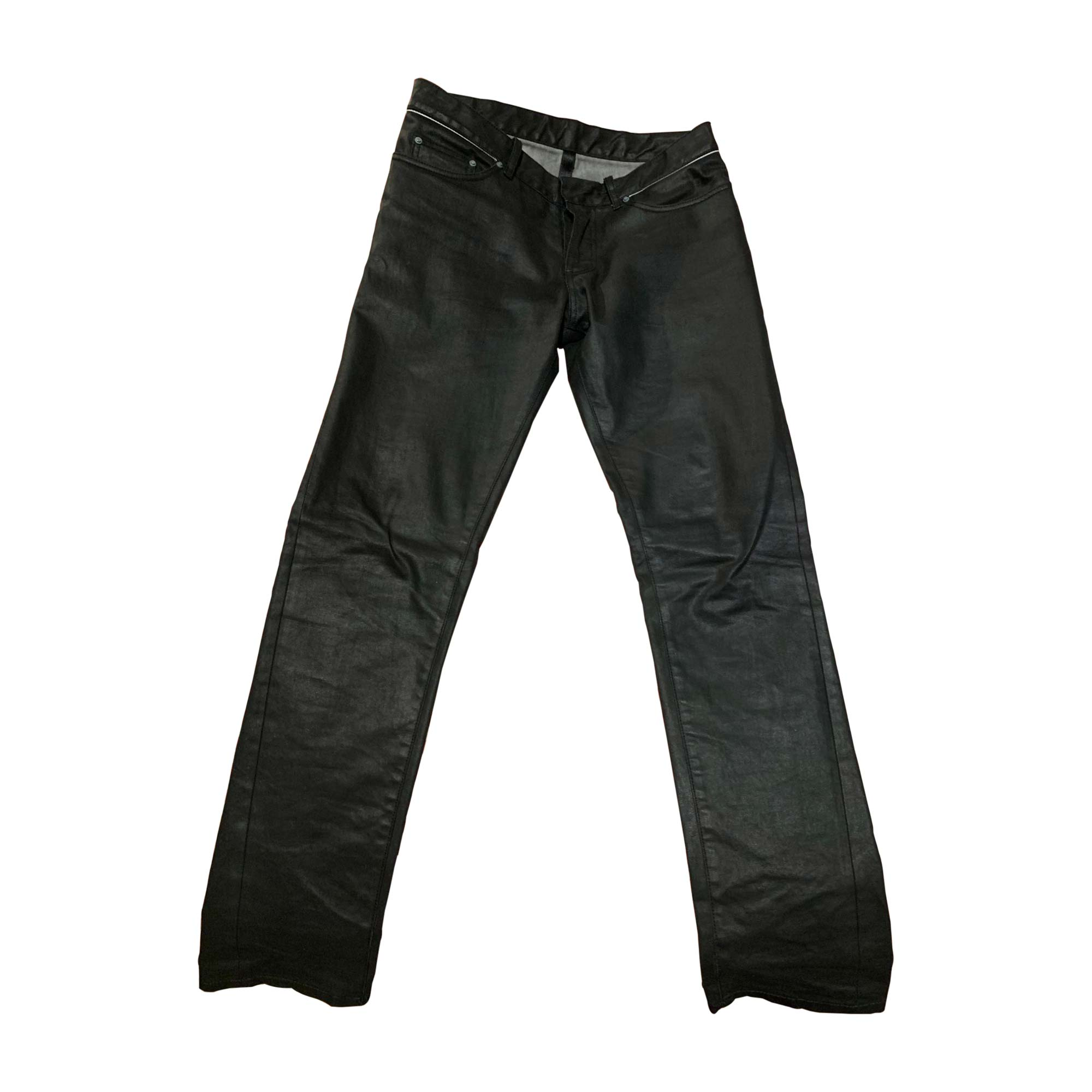Straight Leg Jeans BALENCIAGA Black