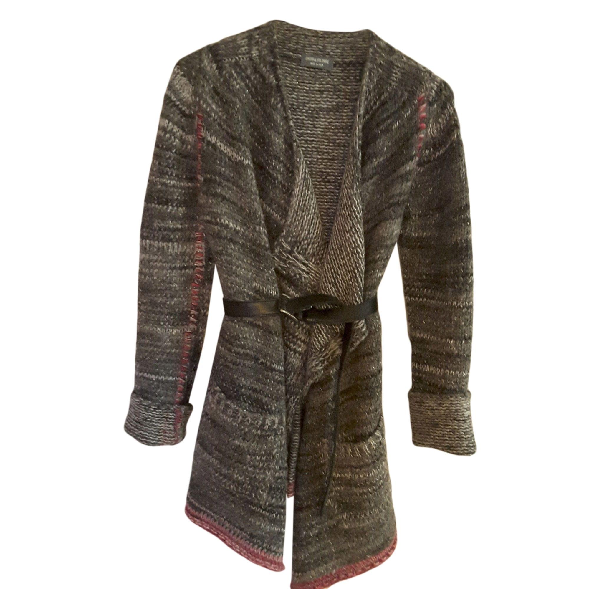 Vest, Cardigan ZADIG & VOLTAIRE Gray, charcoal