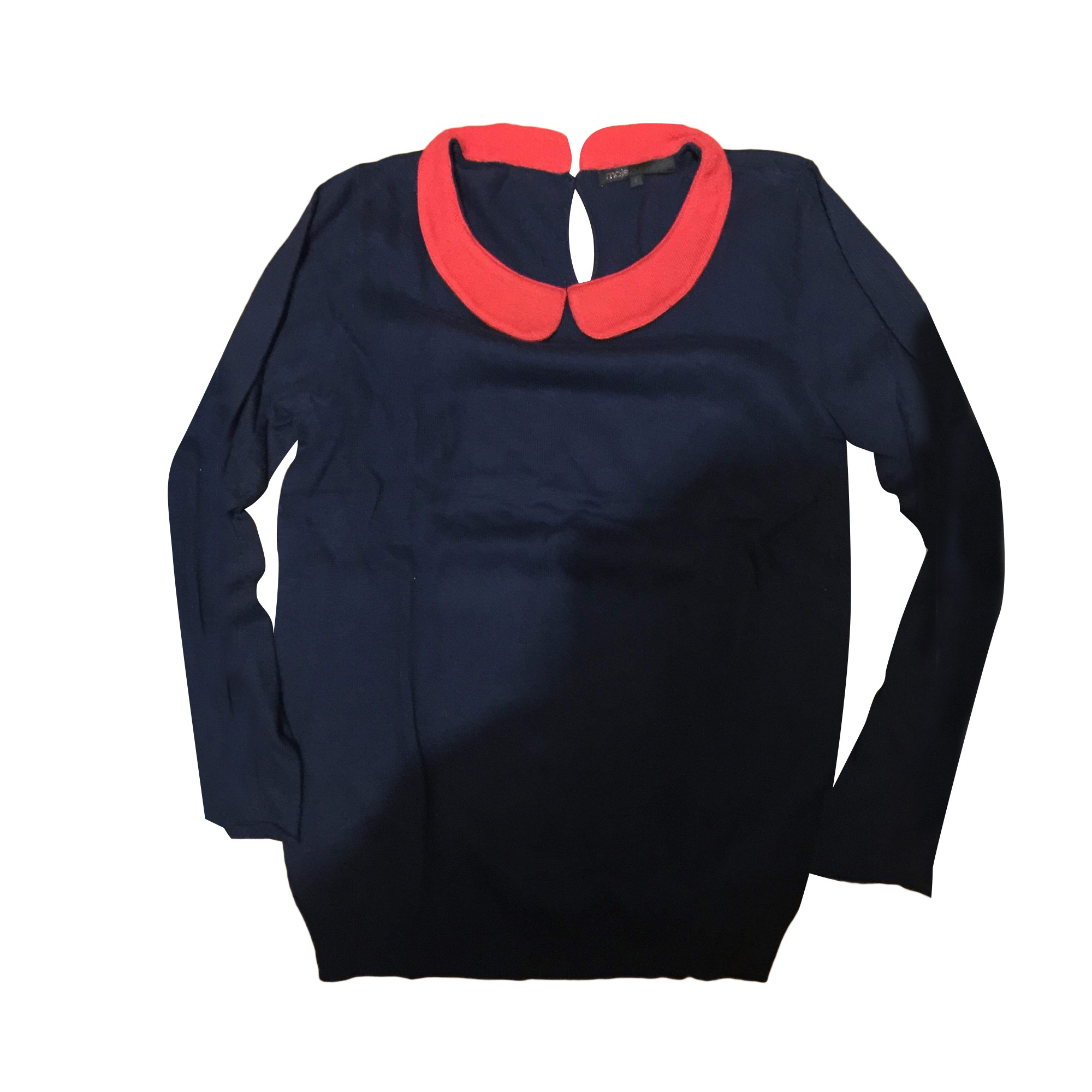 Sweater MAJE Blue, navy, turquoise