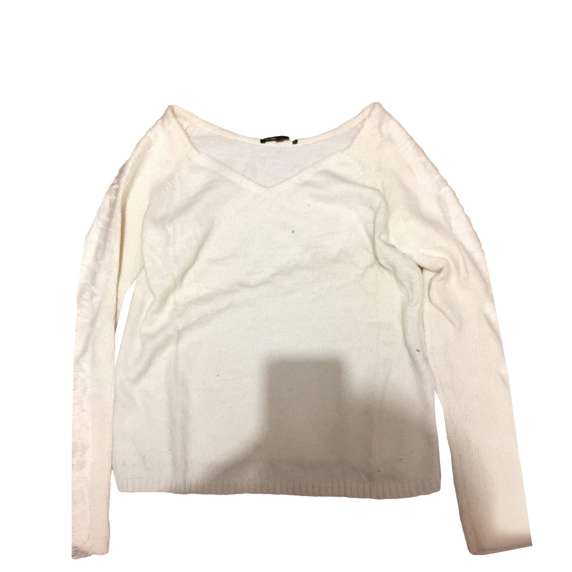 Sweater MAJE White, off-white, ecru