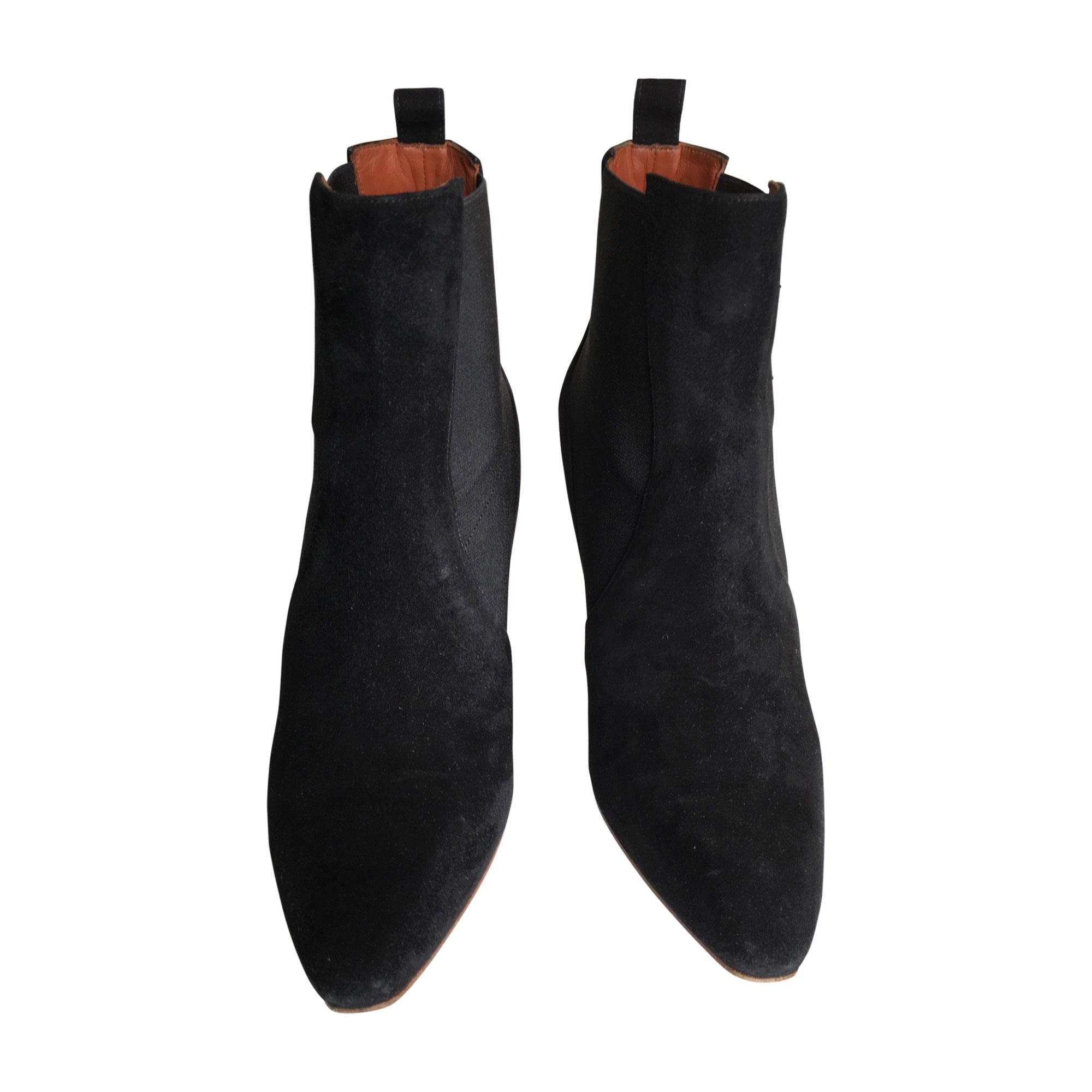 High Heel Ankle Boots MICHEL VIVIEN Black