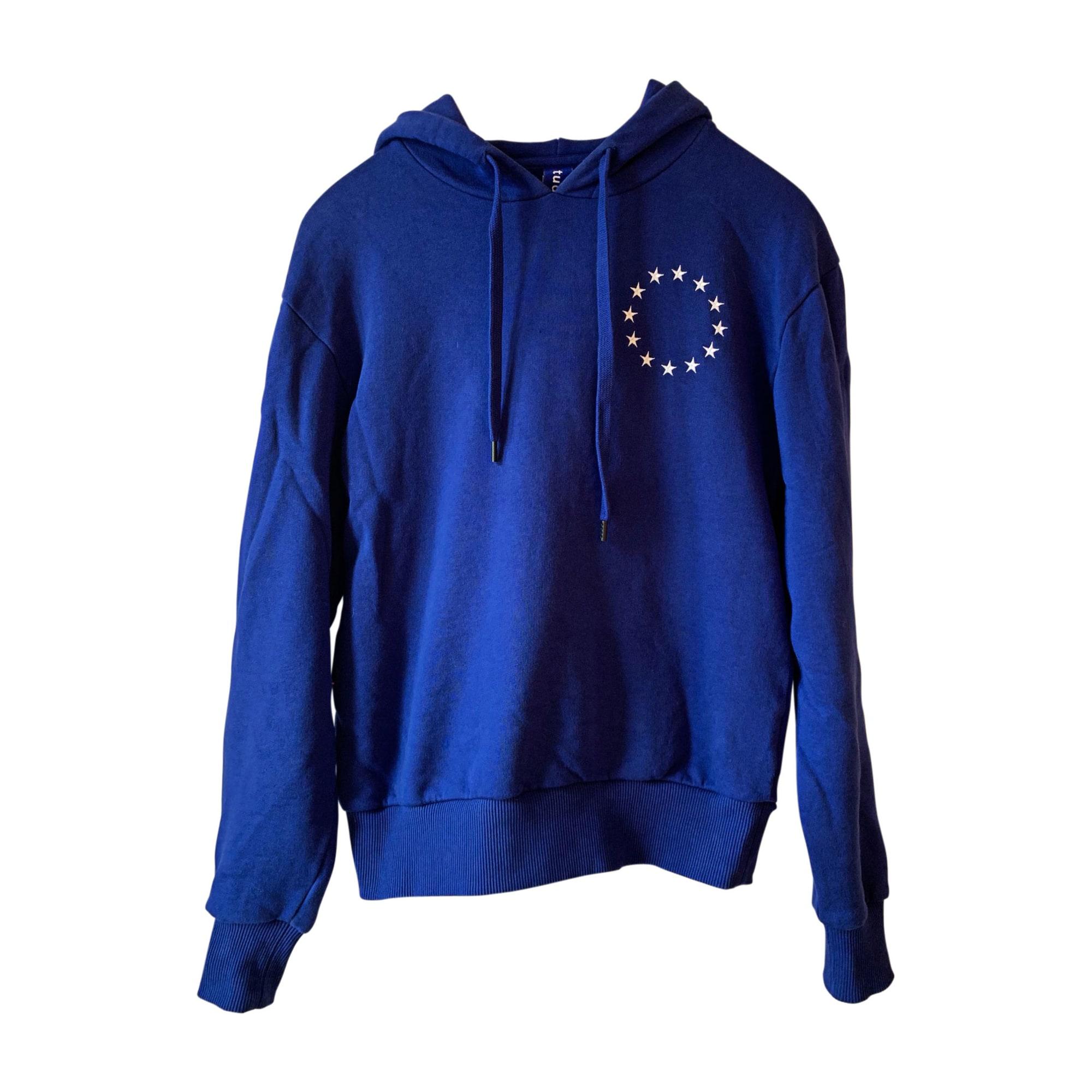 Sweatshirt ÉTUDES STUDIO Blue, navy, turquoise