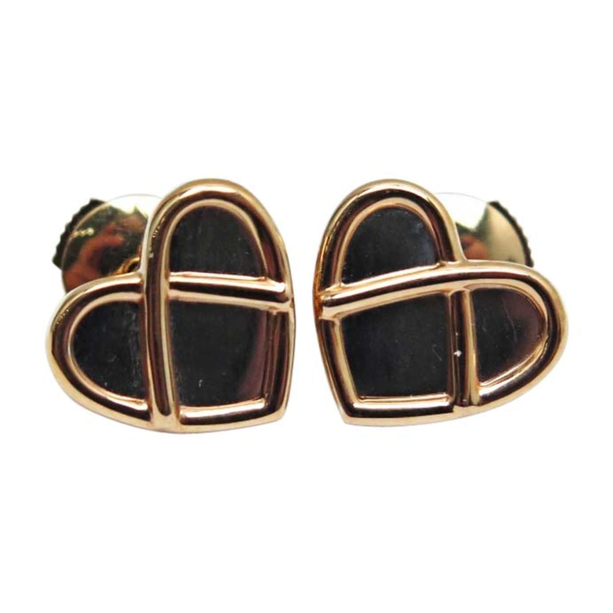 Boucles d'oreilles POIRAY Doré, bronze, cuivre