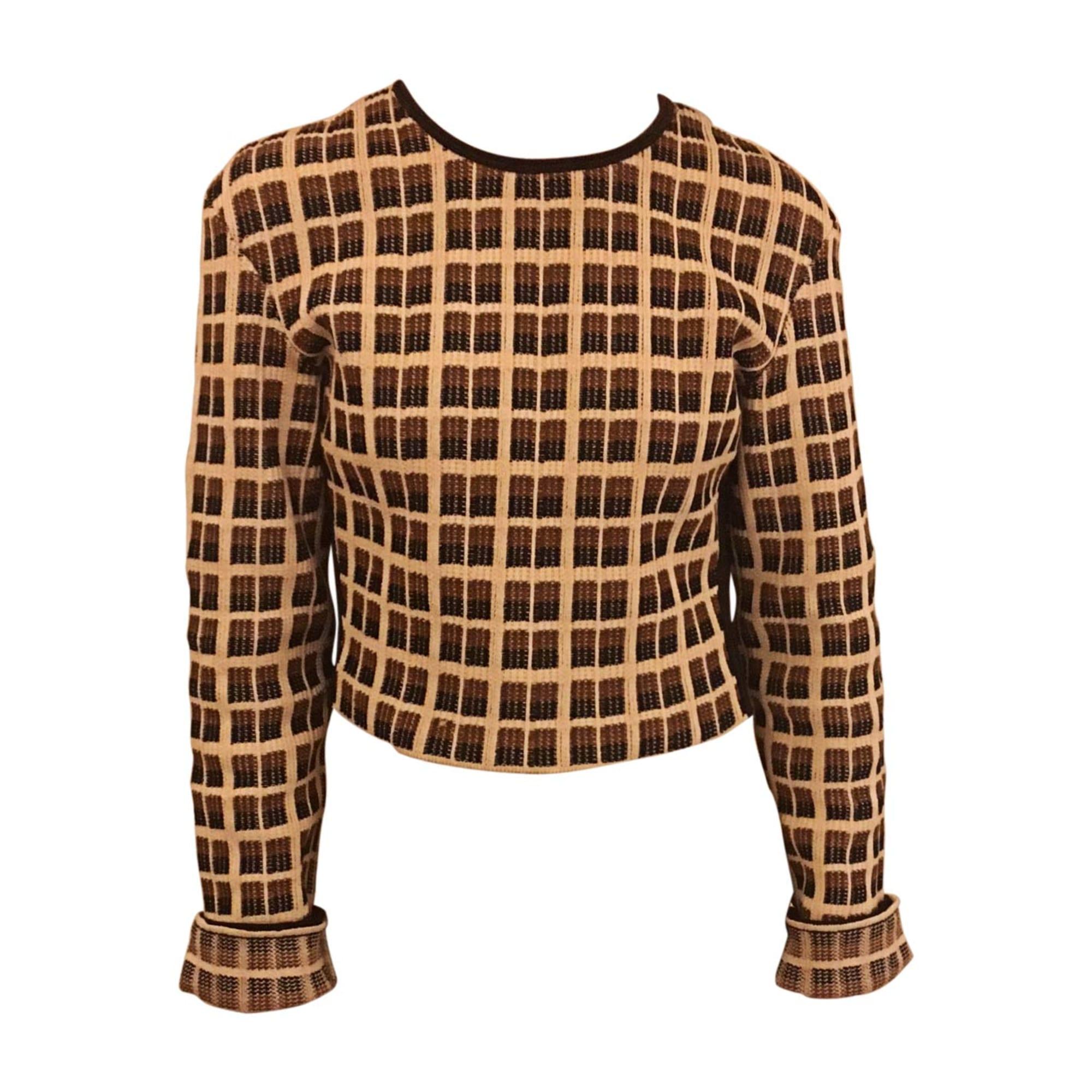 Sweater CÉLINE Brown