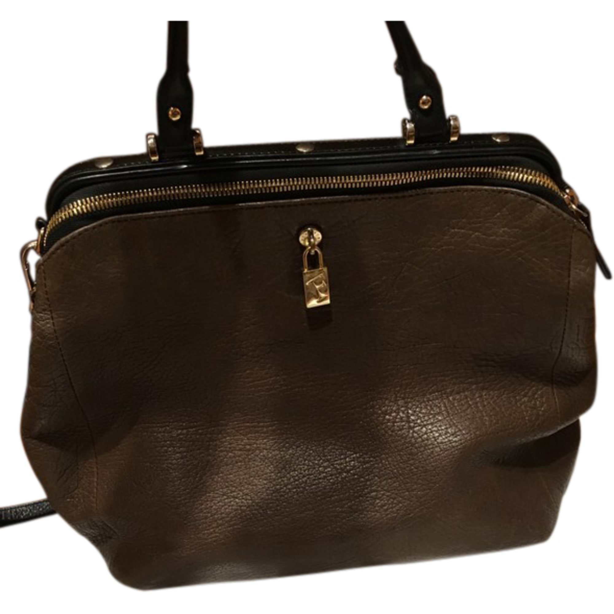 Borsetta in pelle FURLA Marrone