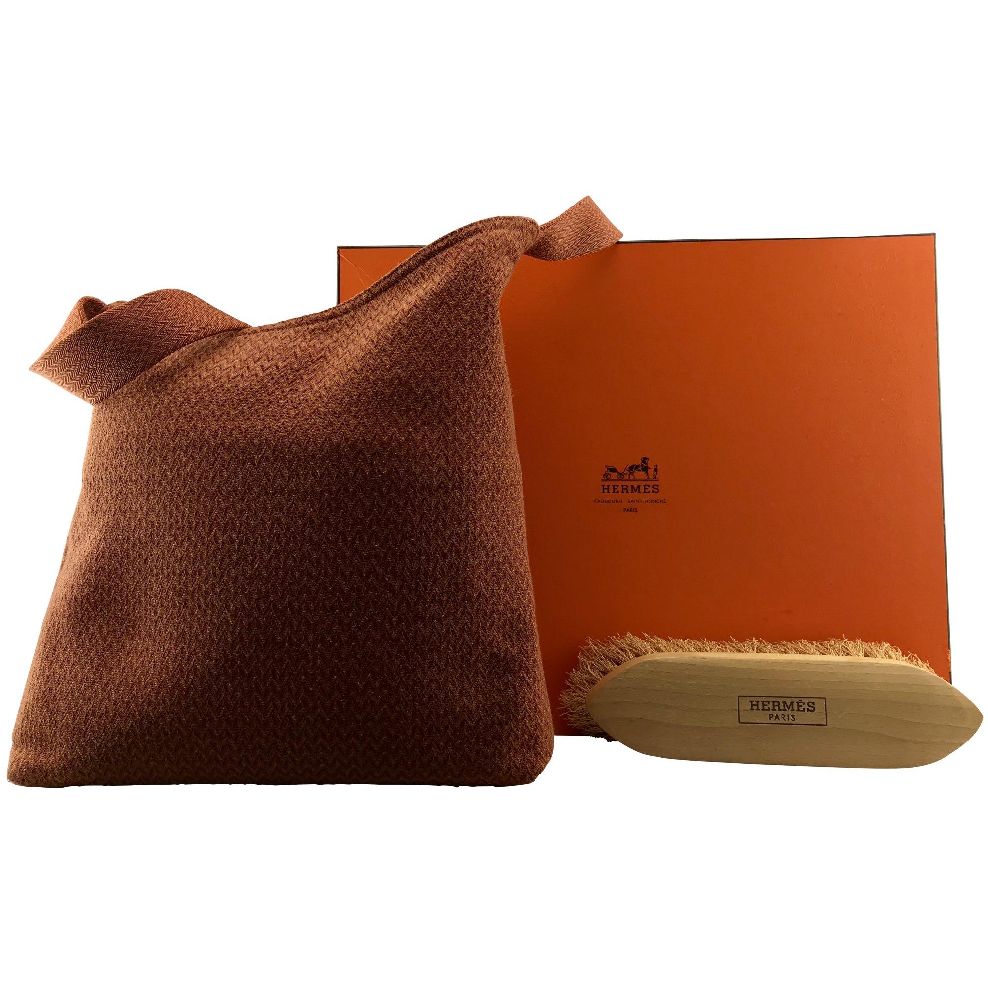 Non-Leather Handbag HERMÈS Orange