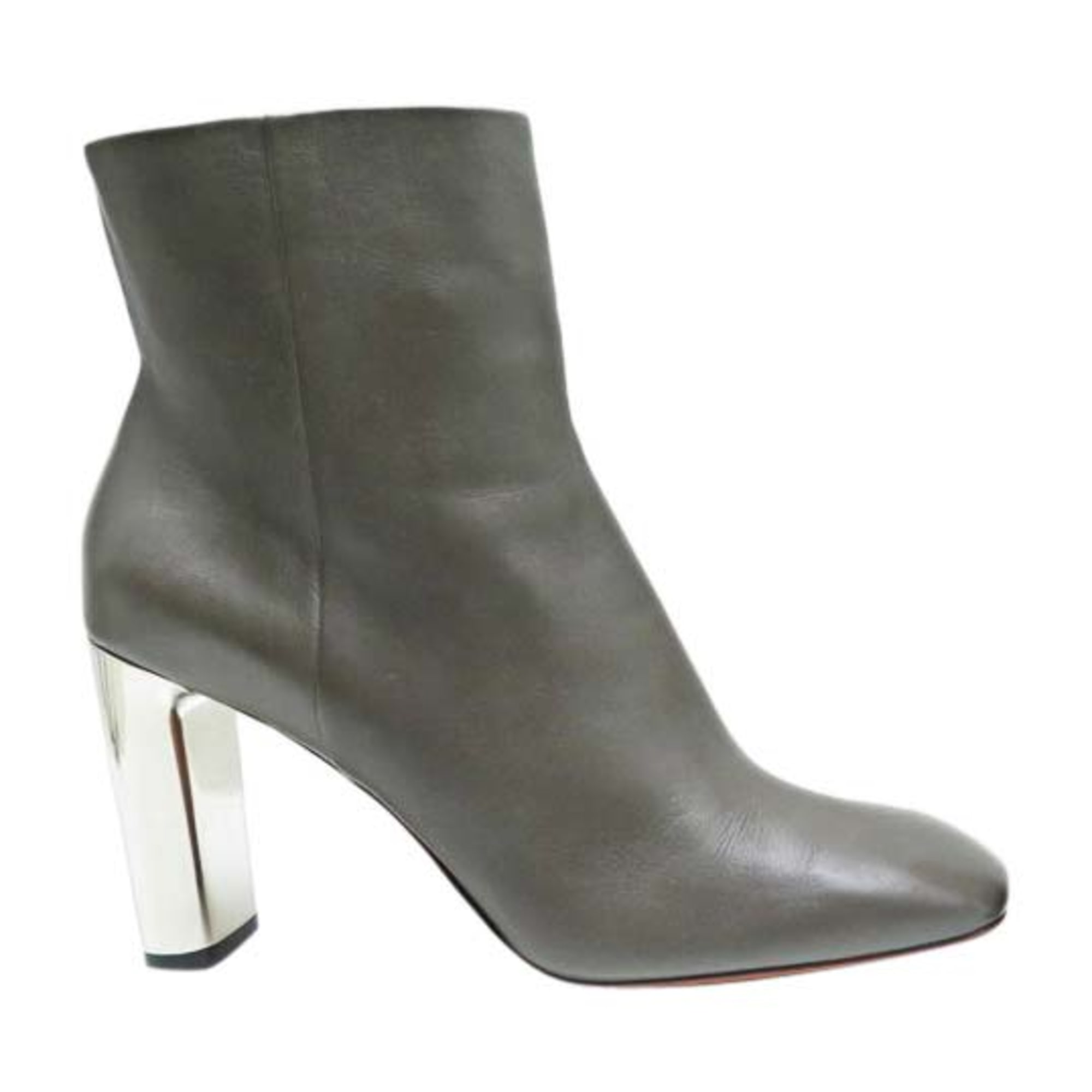 Bottines & low boots à talons CÉLINE Taupe