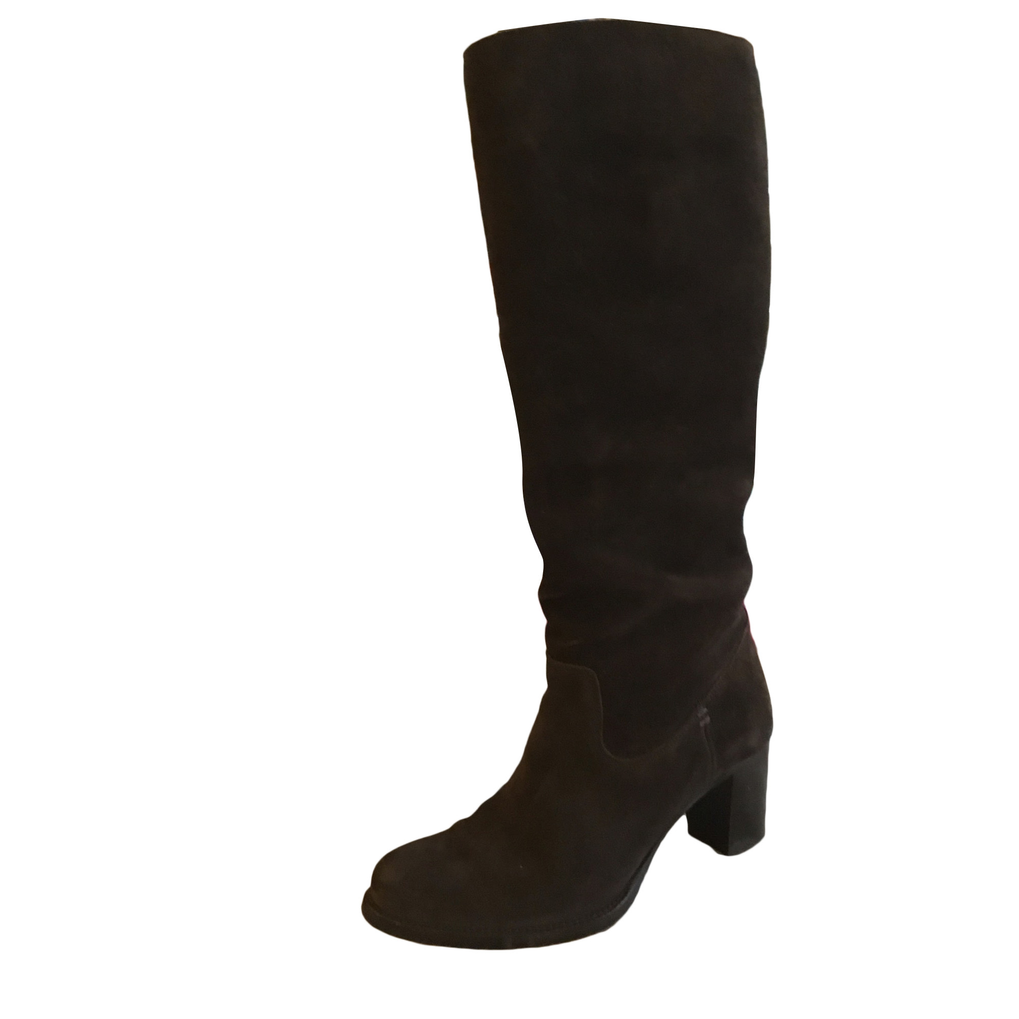 High Heel Boots HESCHUNG Brown