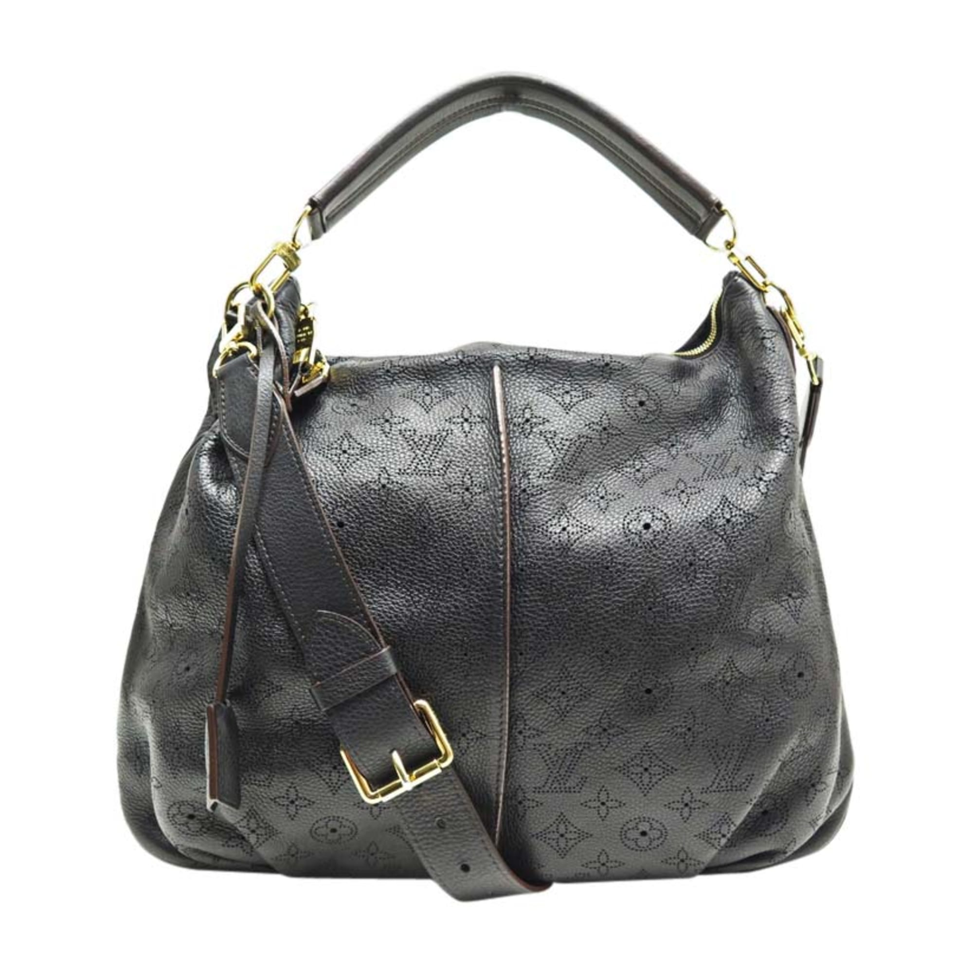 Leather Shoulder Bag LOUIS VUITTON Black