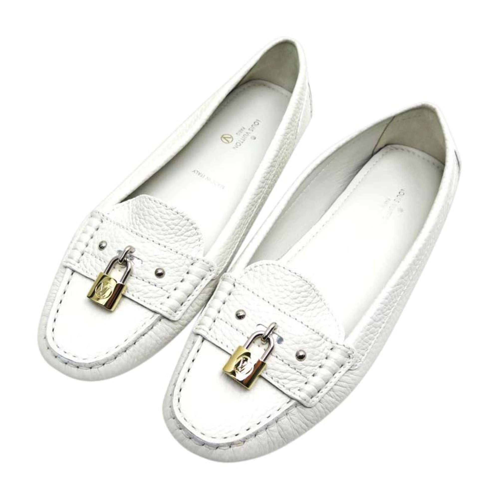 Loafers LOUIS VUITTON White, off-white, ecru