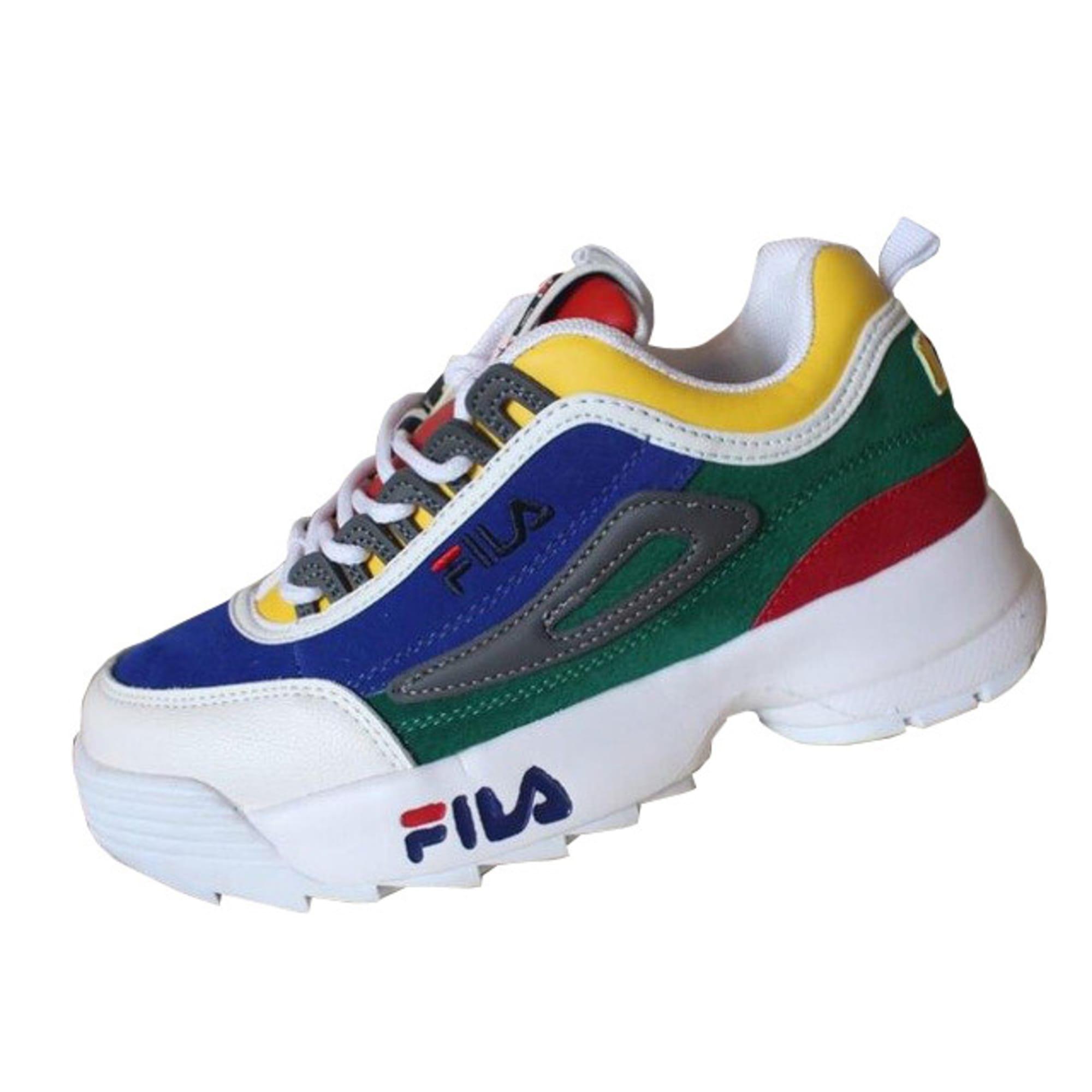 chaussure fila de toute les couleurs