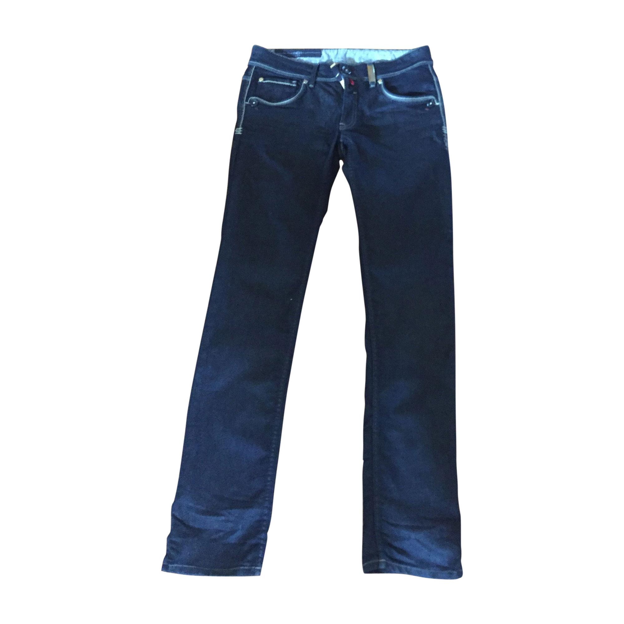 Jeans dritto HIGH Bleu marine