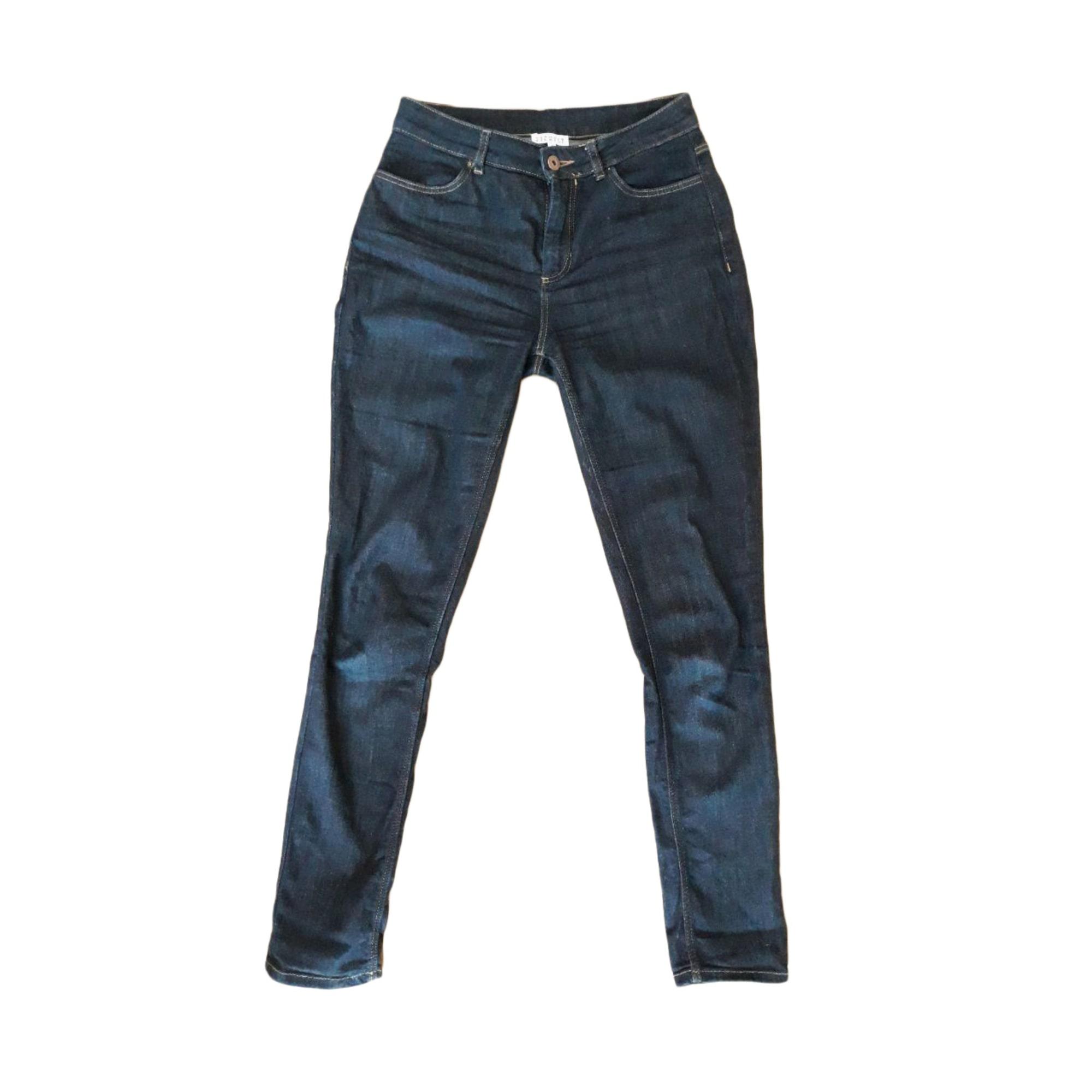 Jeans dritto CLAUDIE PIERLOT Blu, blu navy, turchese