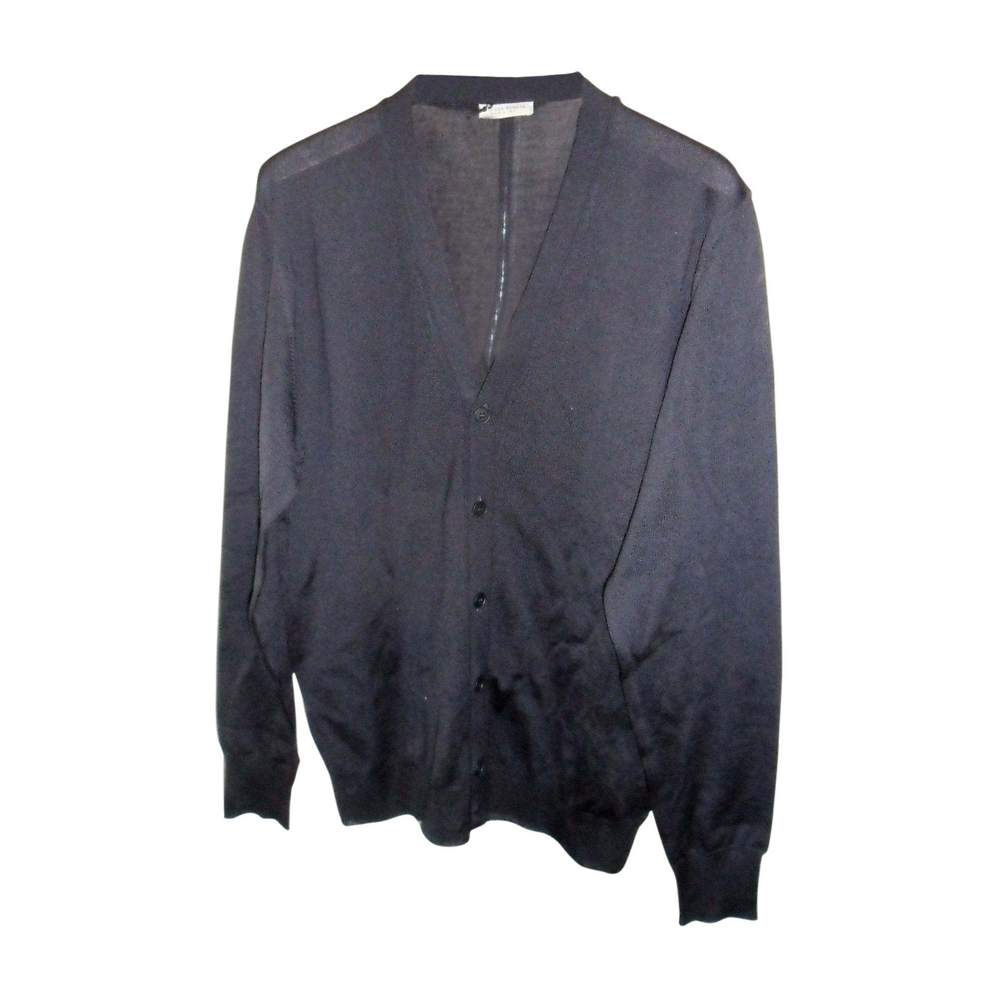 Vest, Cardigan BOTTEGA VENETA Blue, navy, turquoise
