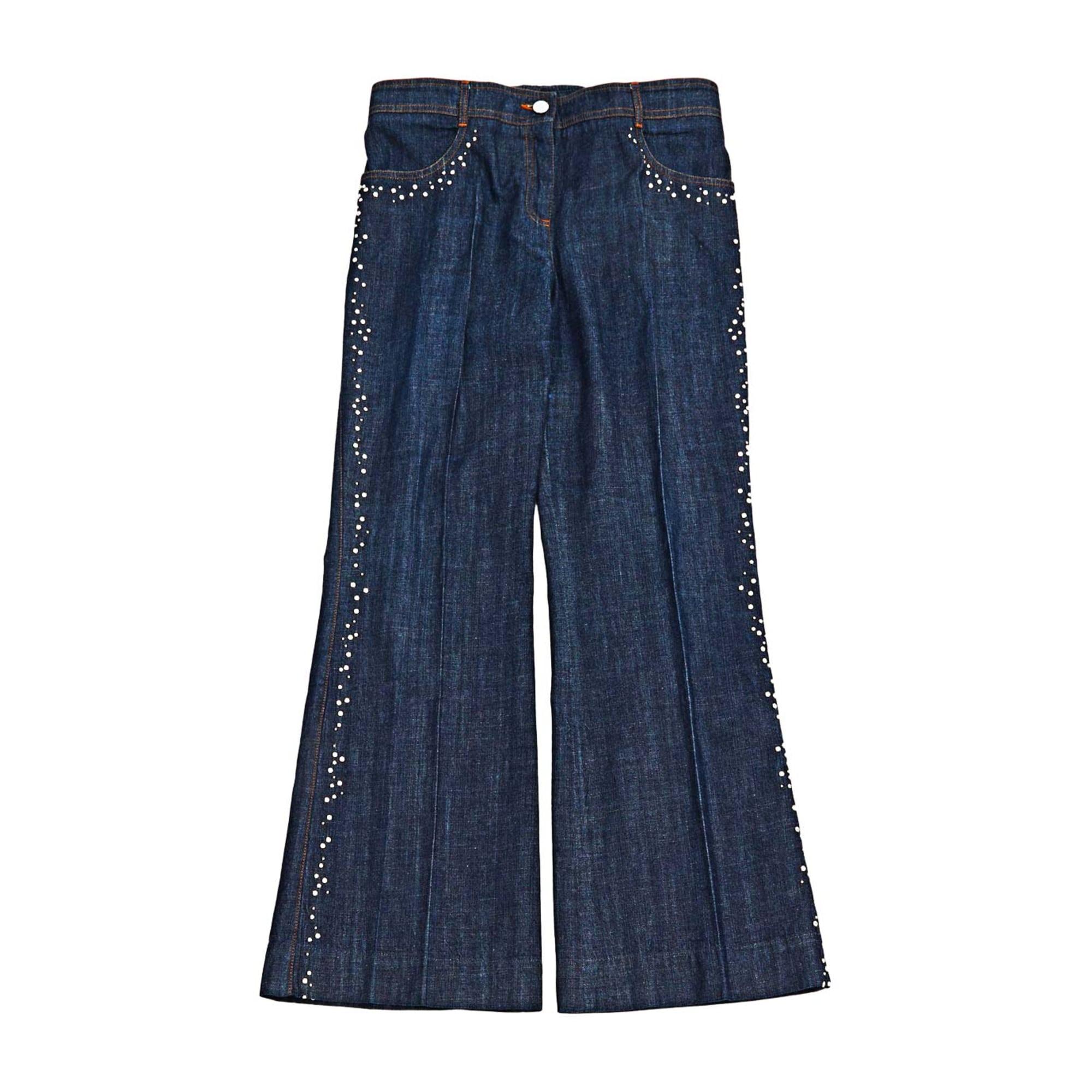 Jeans svasato, boot-cut CHLOÉ Blu, blu navy, turchese