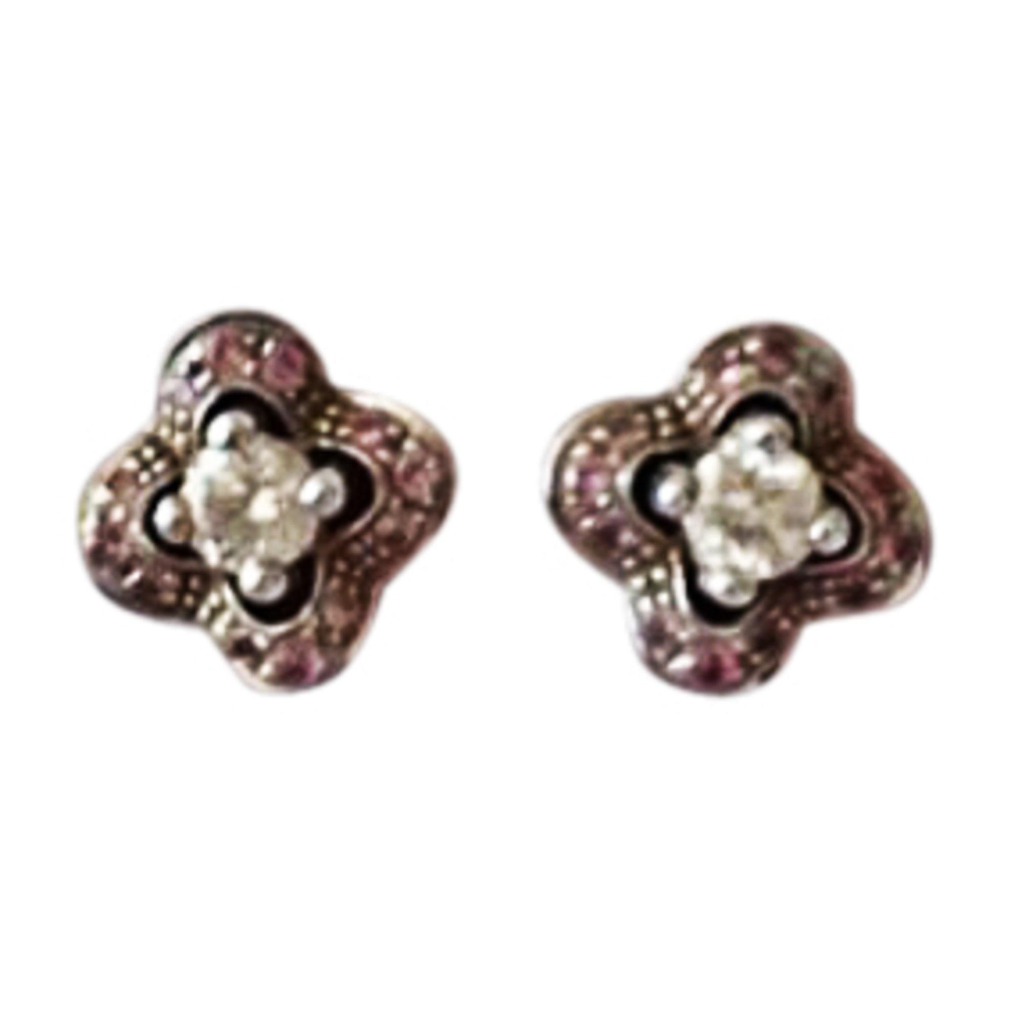 Boucles d'oreilles MAUBOUSSIN Or blanc