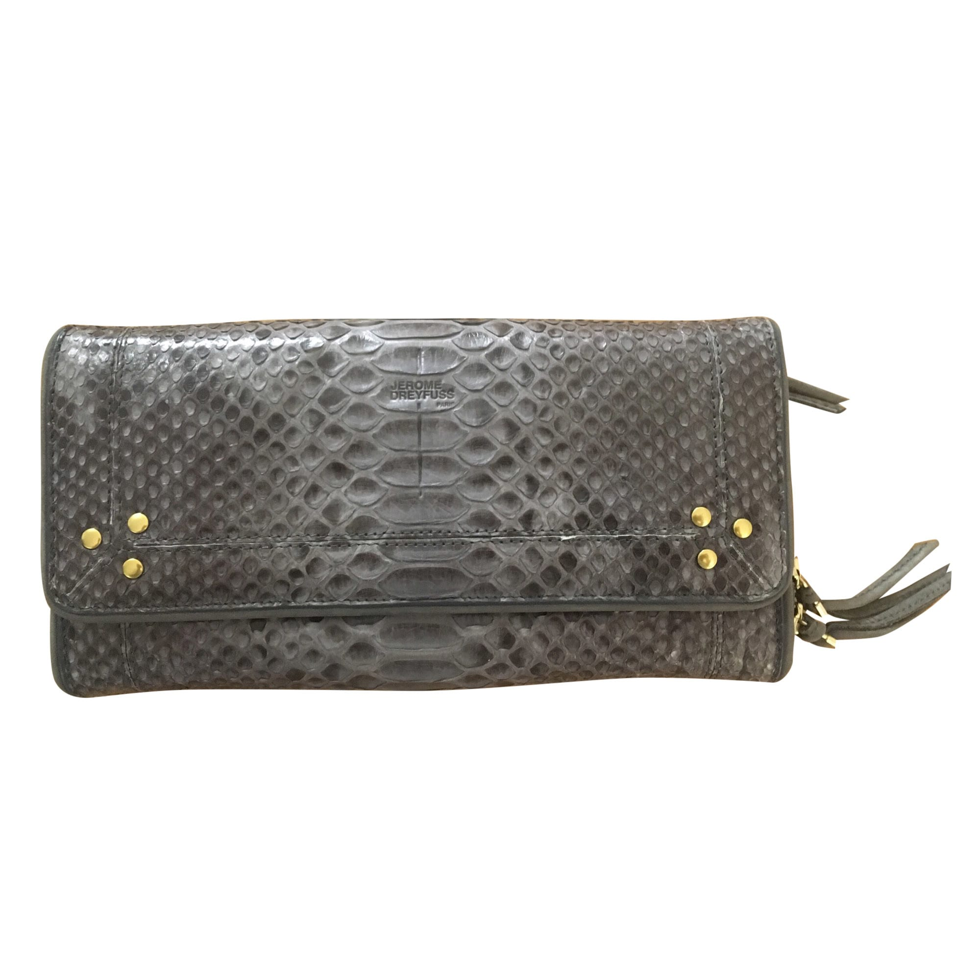 Wallet JEROME DREYFUSS Gray, charcoal