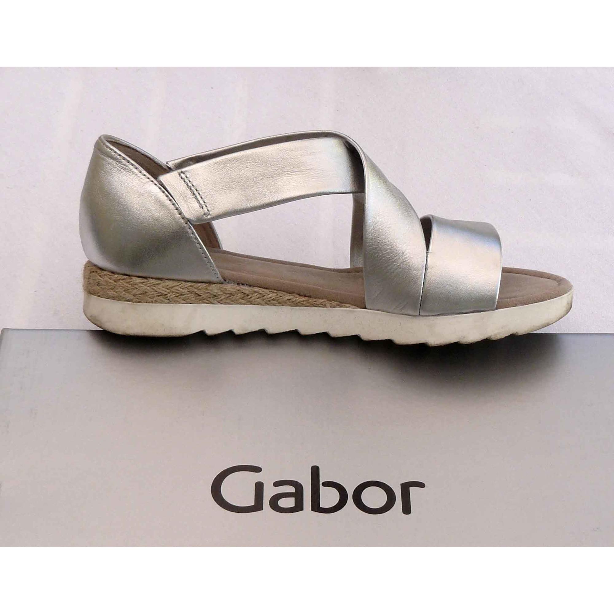 369cca7e75ba37 Sandales compensées GABOR