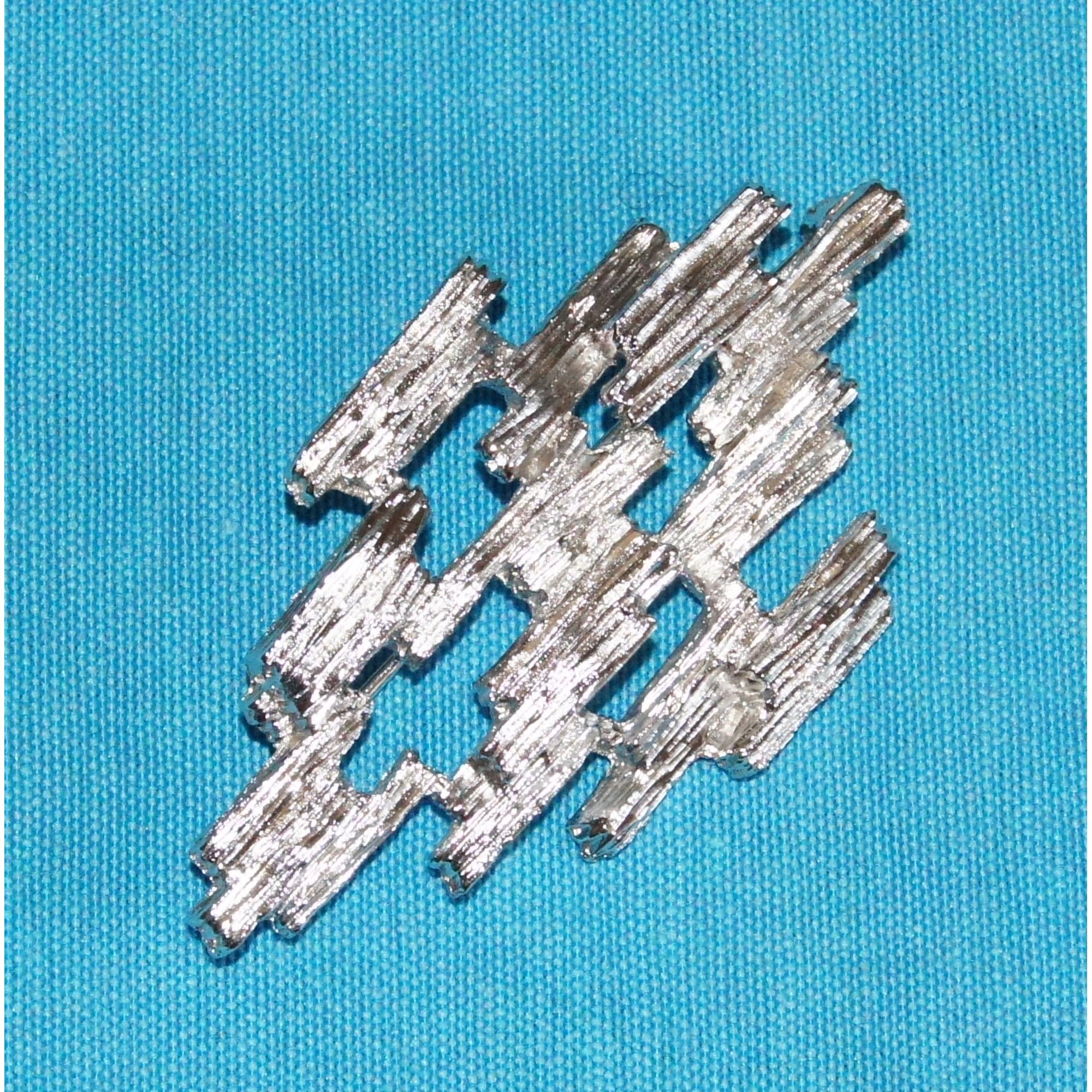 Broche CARVEN métal argent