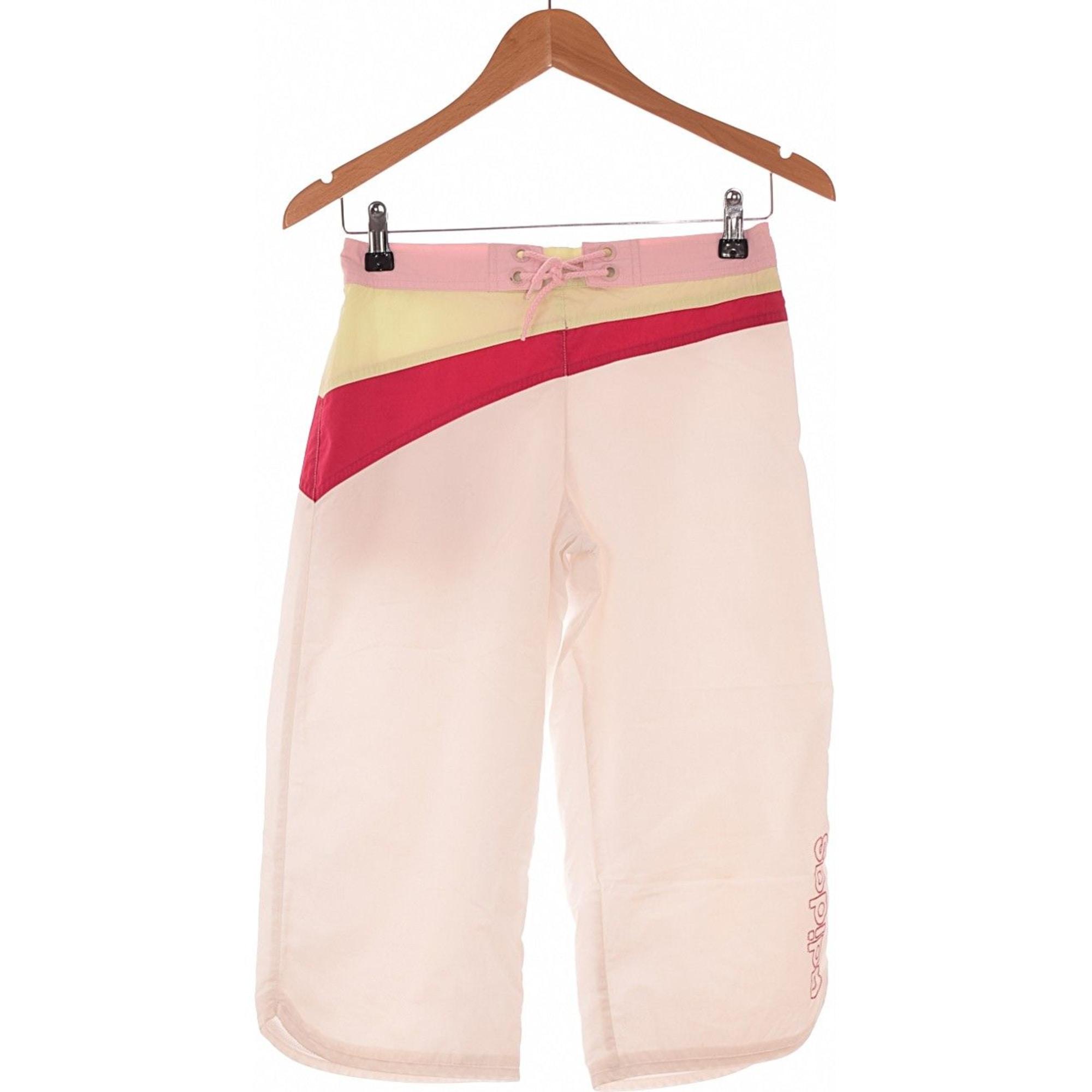 Cropped Pants, Capri Pants ADIDAS White, off-white, ecru
