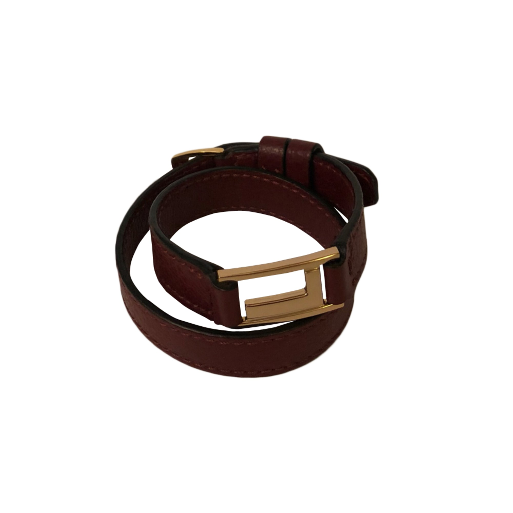 Bracelet LANCEL Rouge, bordeaux