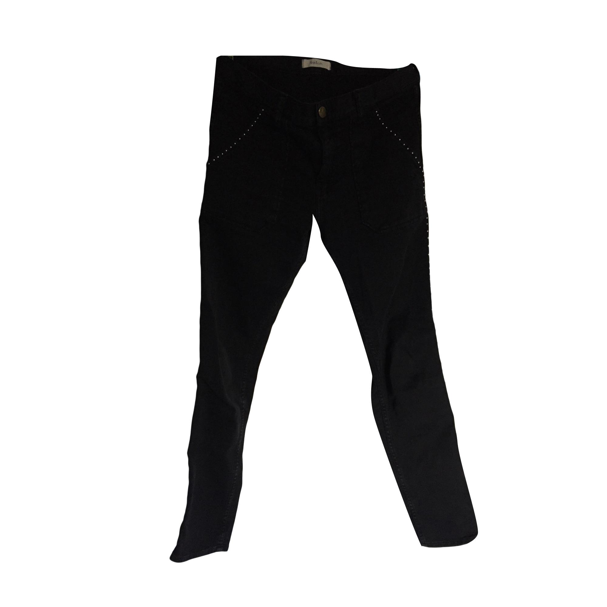 Jeans slim BA&SH Nero