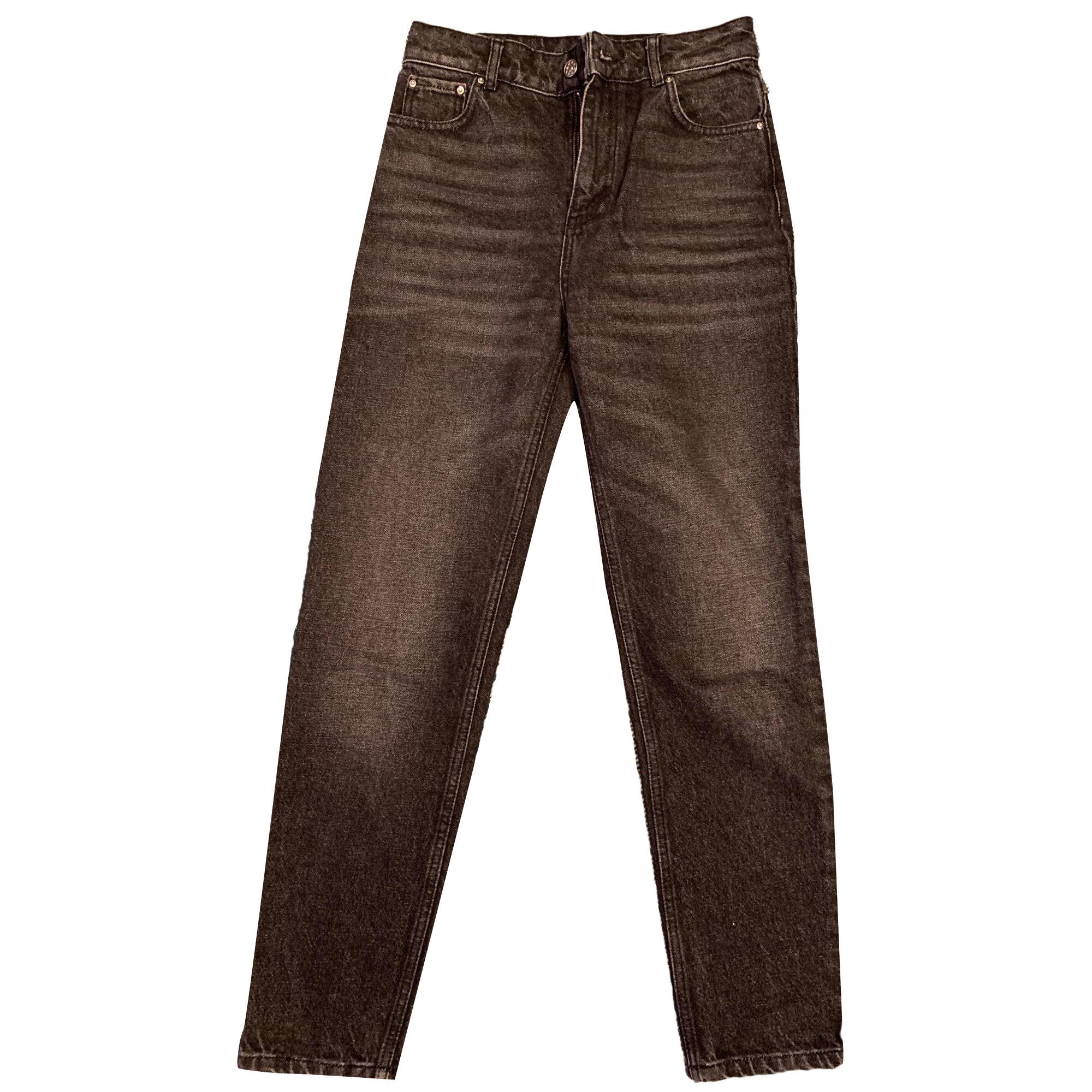 Jeans évasé, boot-cut CLAUDIE PIERLOT Gris, anthracite