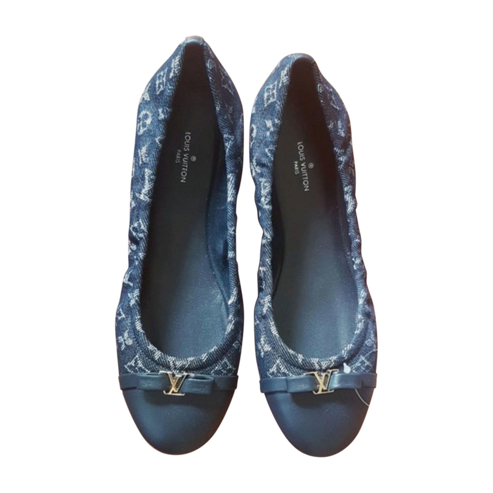 Ballet Flats LOUIS VUITTON Blue, navy, turquoise