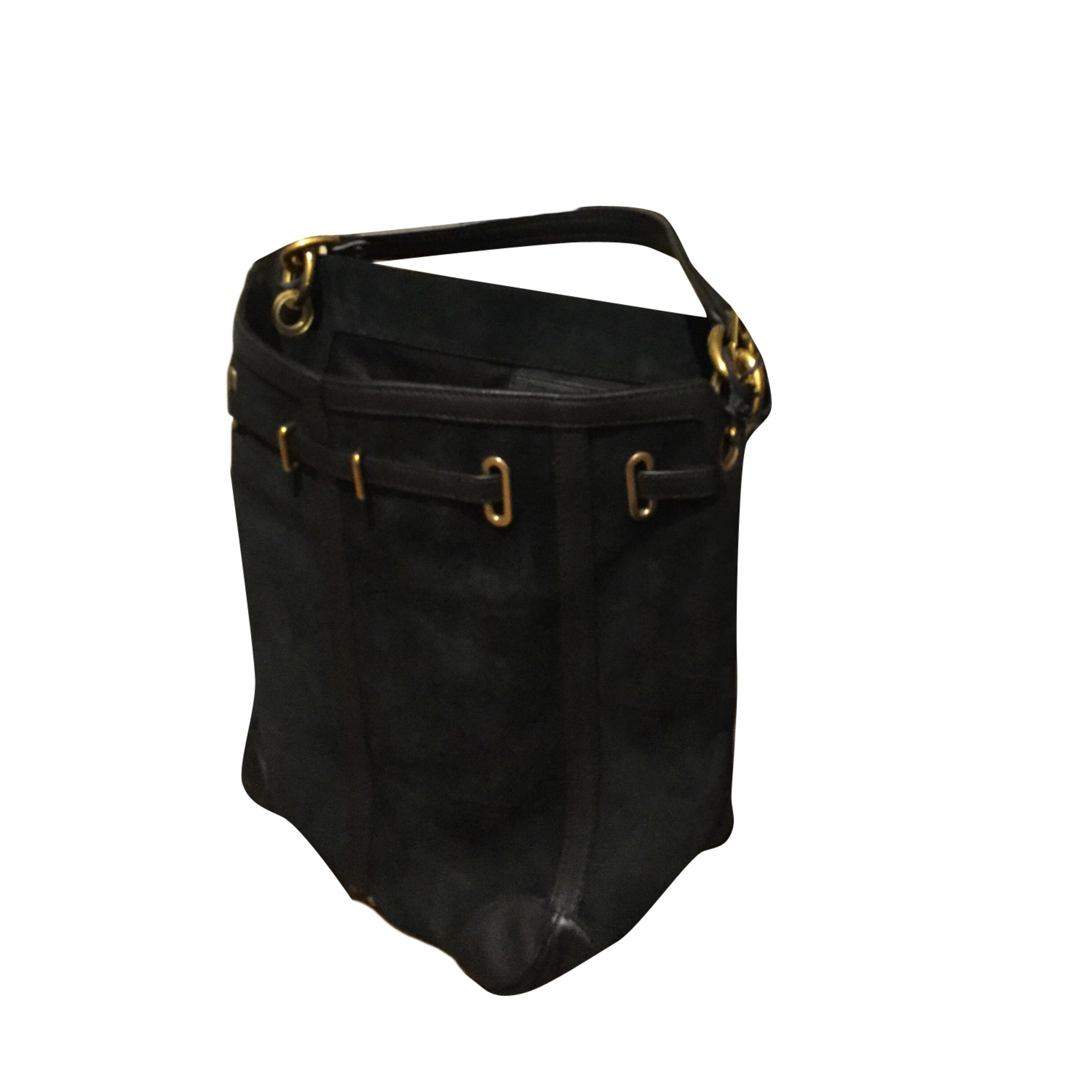 Leather Shoulder Bag JEROME DREYFUSS Black