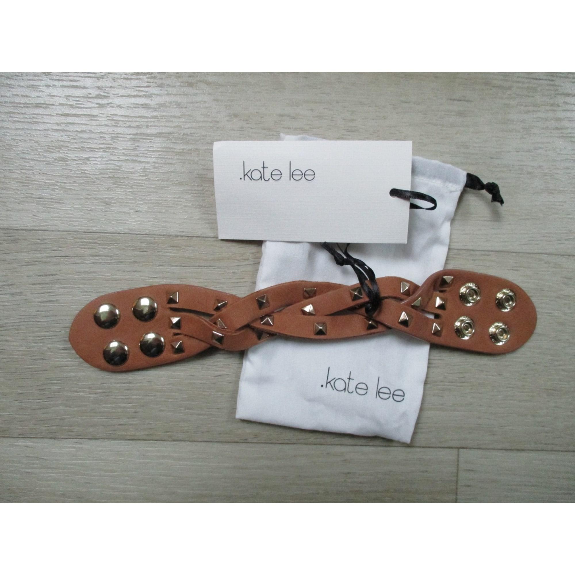 Bracelet KATE LEE cuir marron