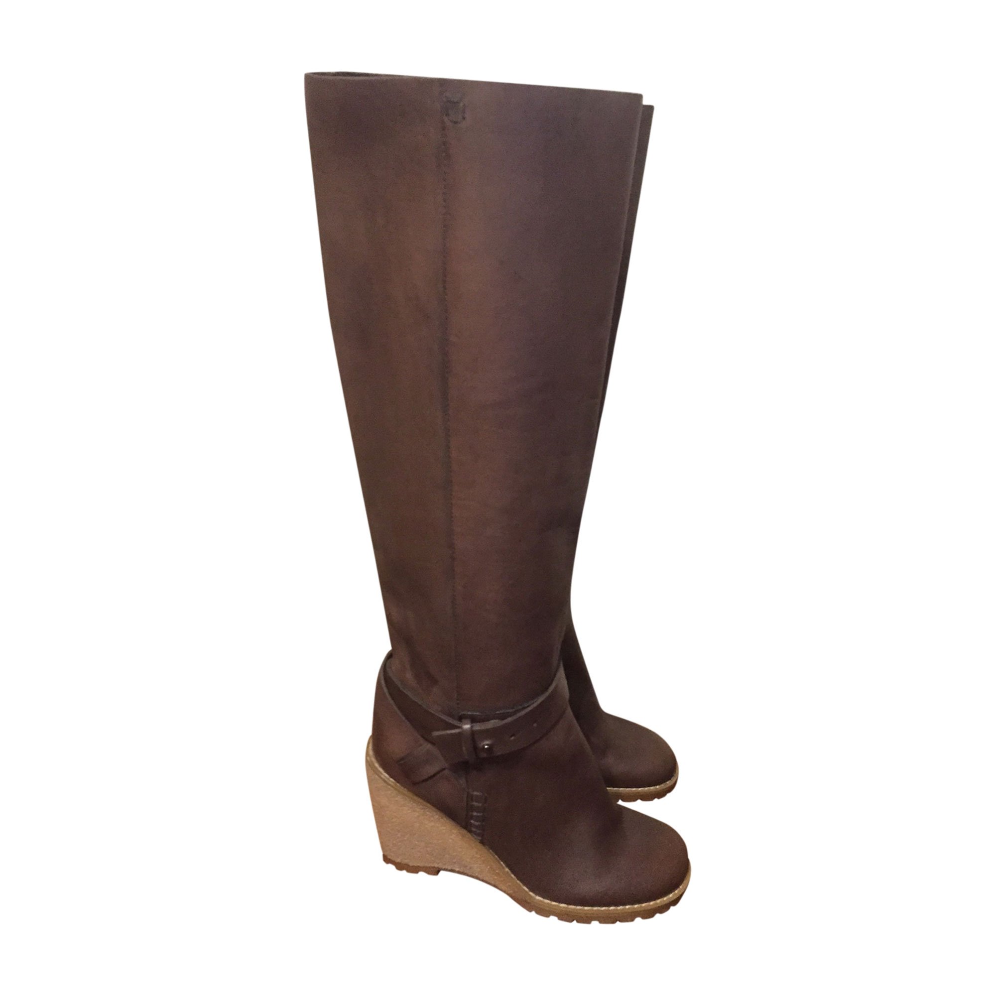 Stivali con tacchi SEE BY CHLOE Beige, cammello