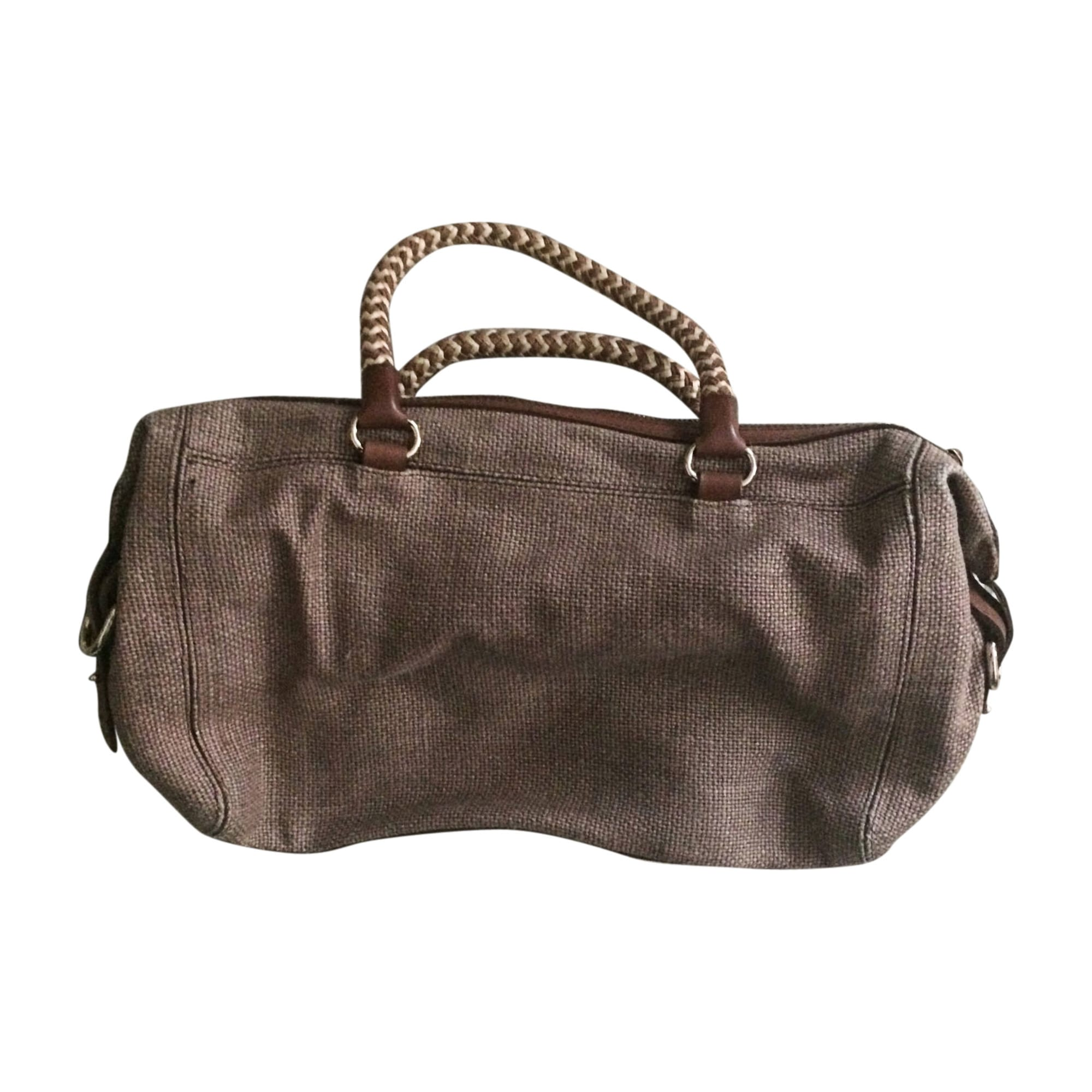 Non-Leather Handbag VANESSA BRUNO Brown