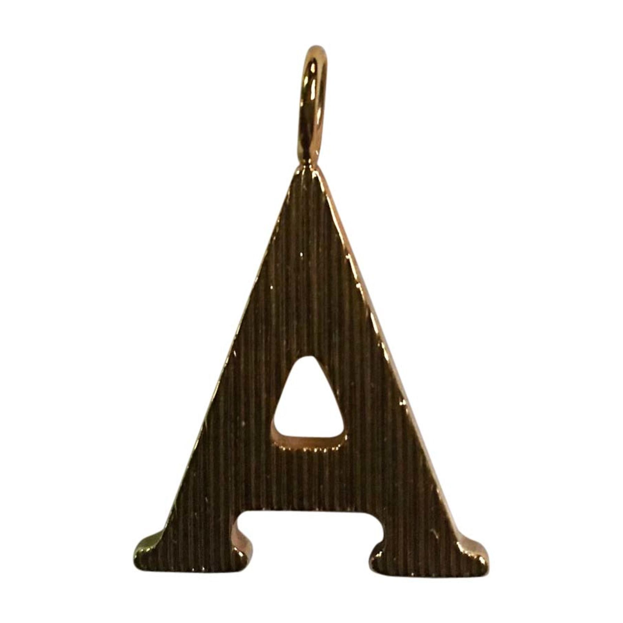Pendentif, collier pendentif CHLOÉ Doré, bronze, cuivre