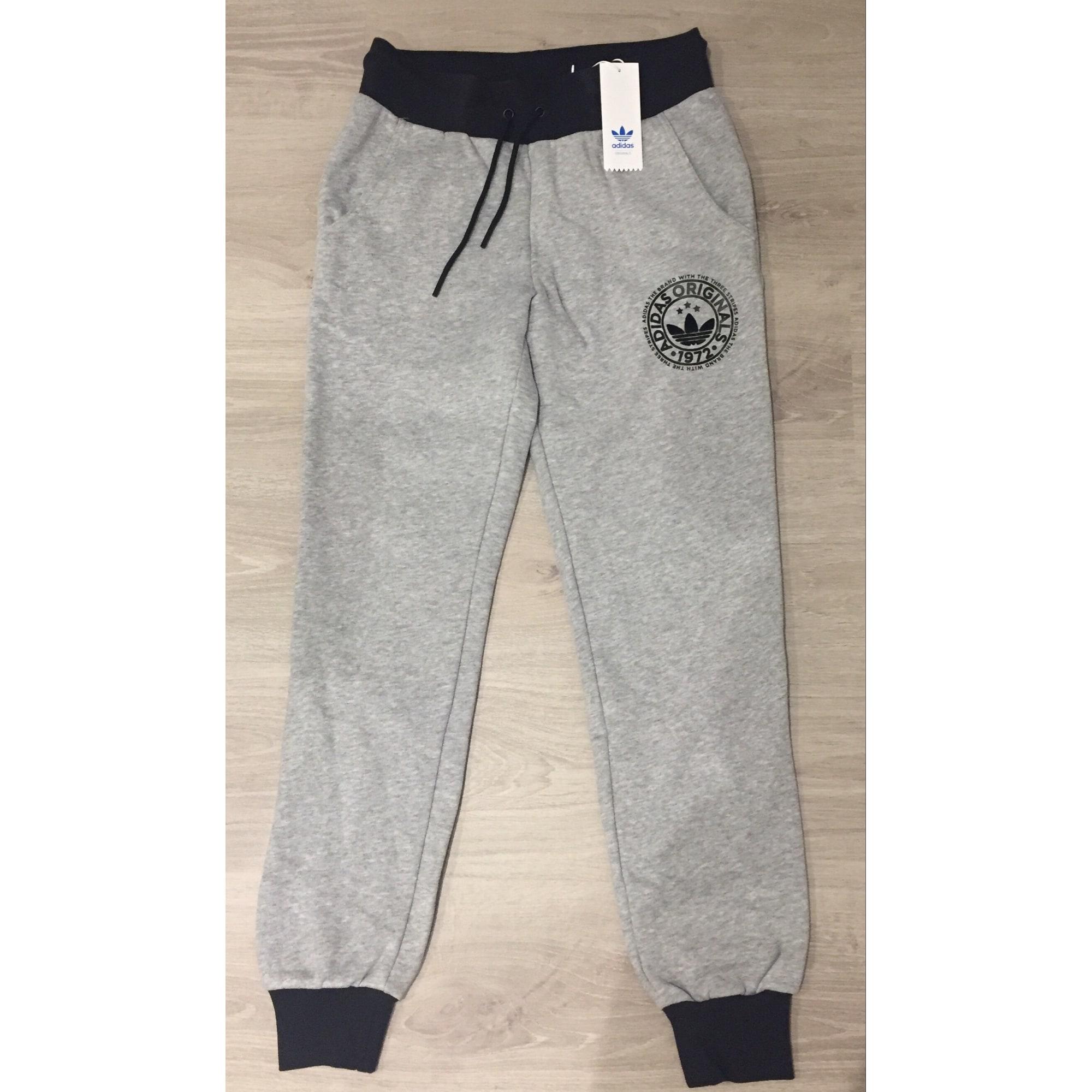 Pantalon de survêtement Adidas P Gris Gris Achat