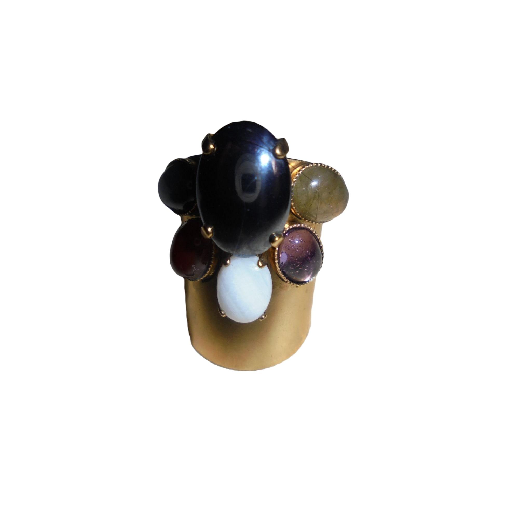 Bague ELA STONE pierres (pas plastiques) de différentes couleur