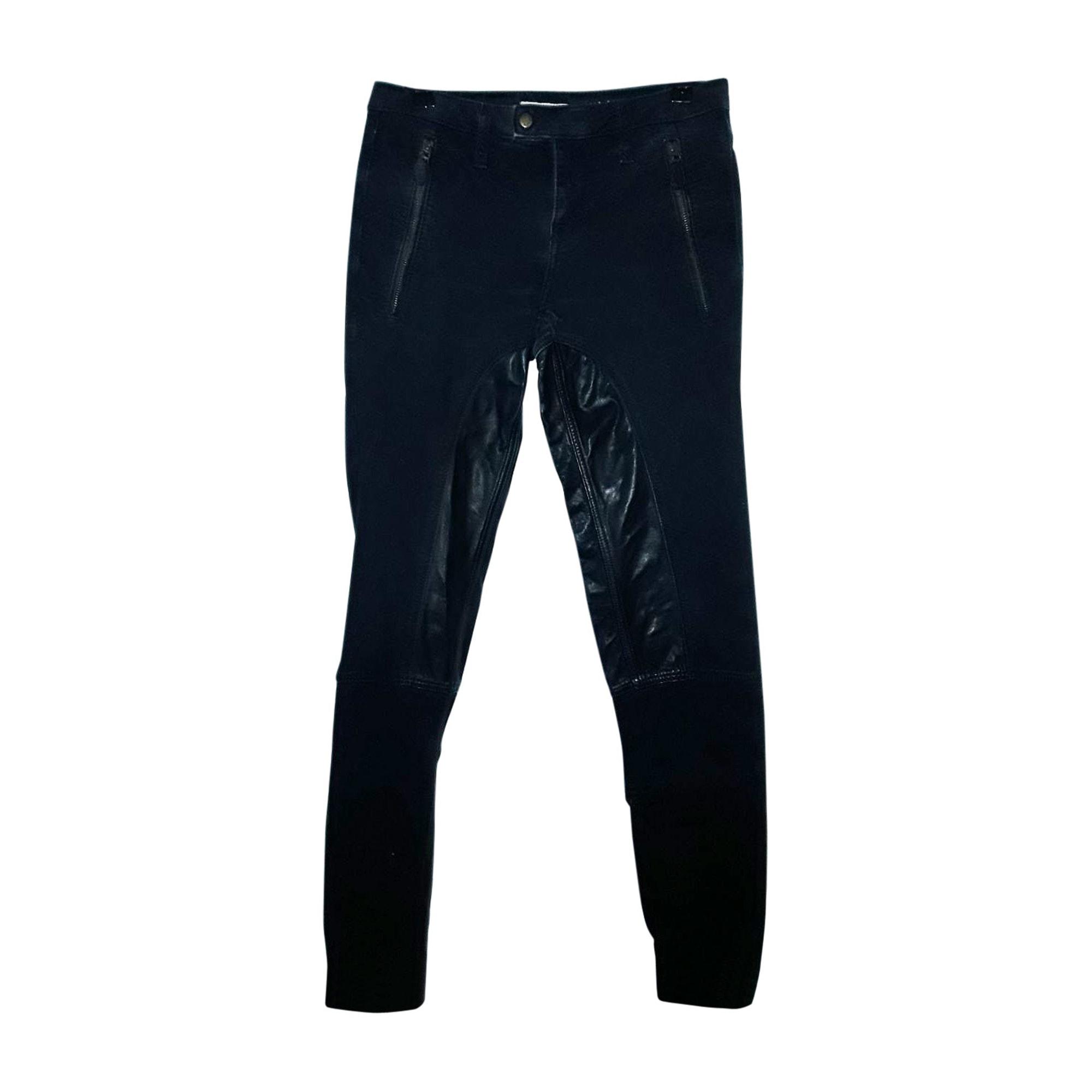 Pantalon slim, cigarette BURBERRY Noir