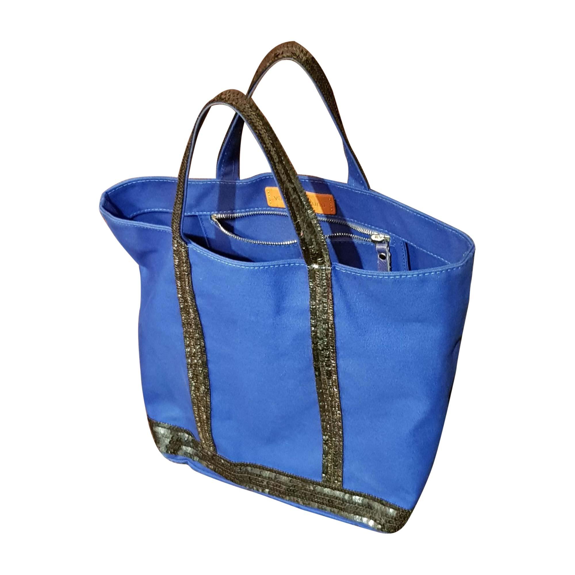 Non-Leather Handbag VANESSA BRUNO Blue, navy, turquoise