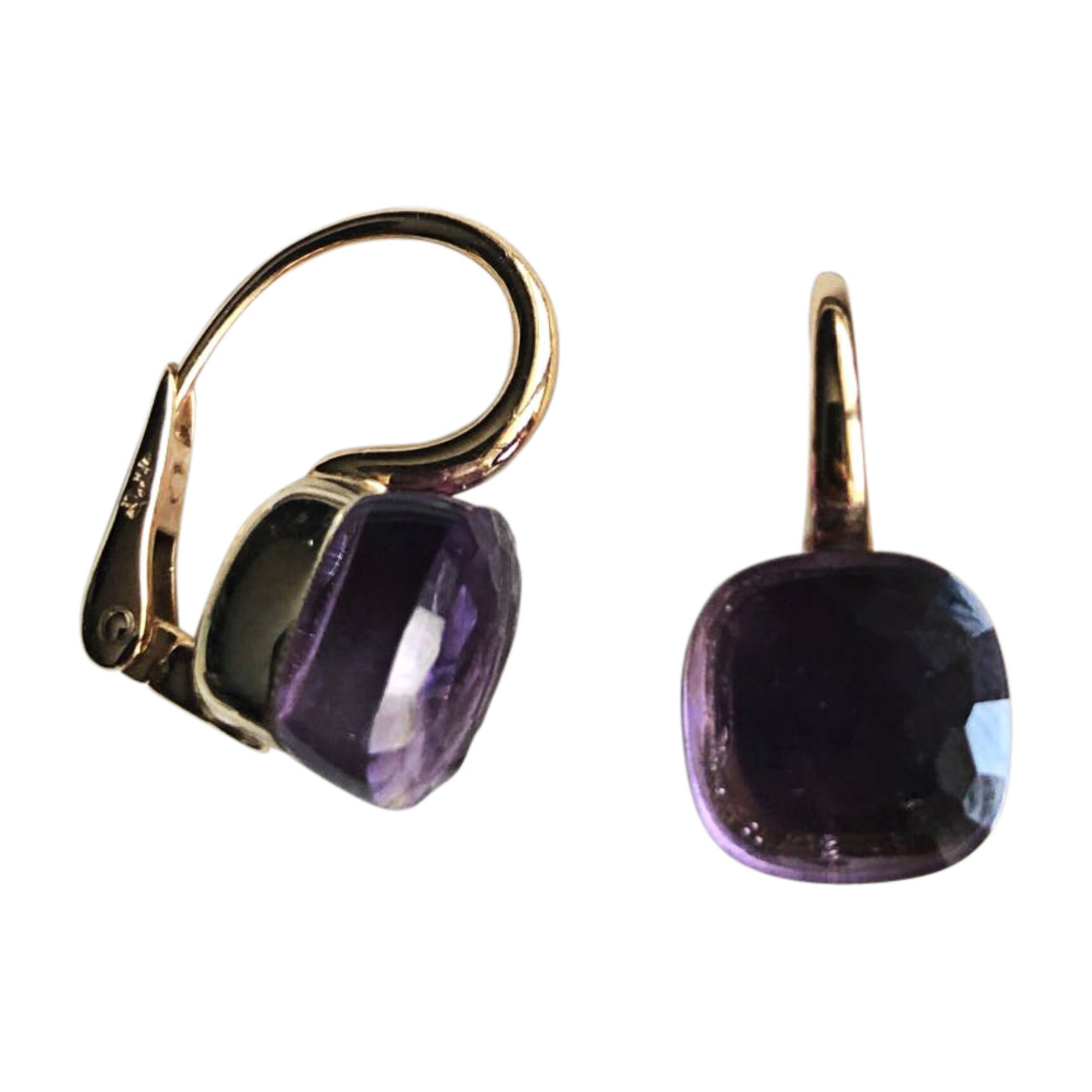 Earrings POMELLATO Purple, mauve, lavender