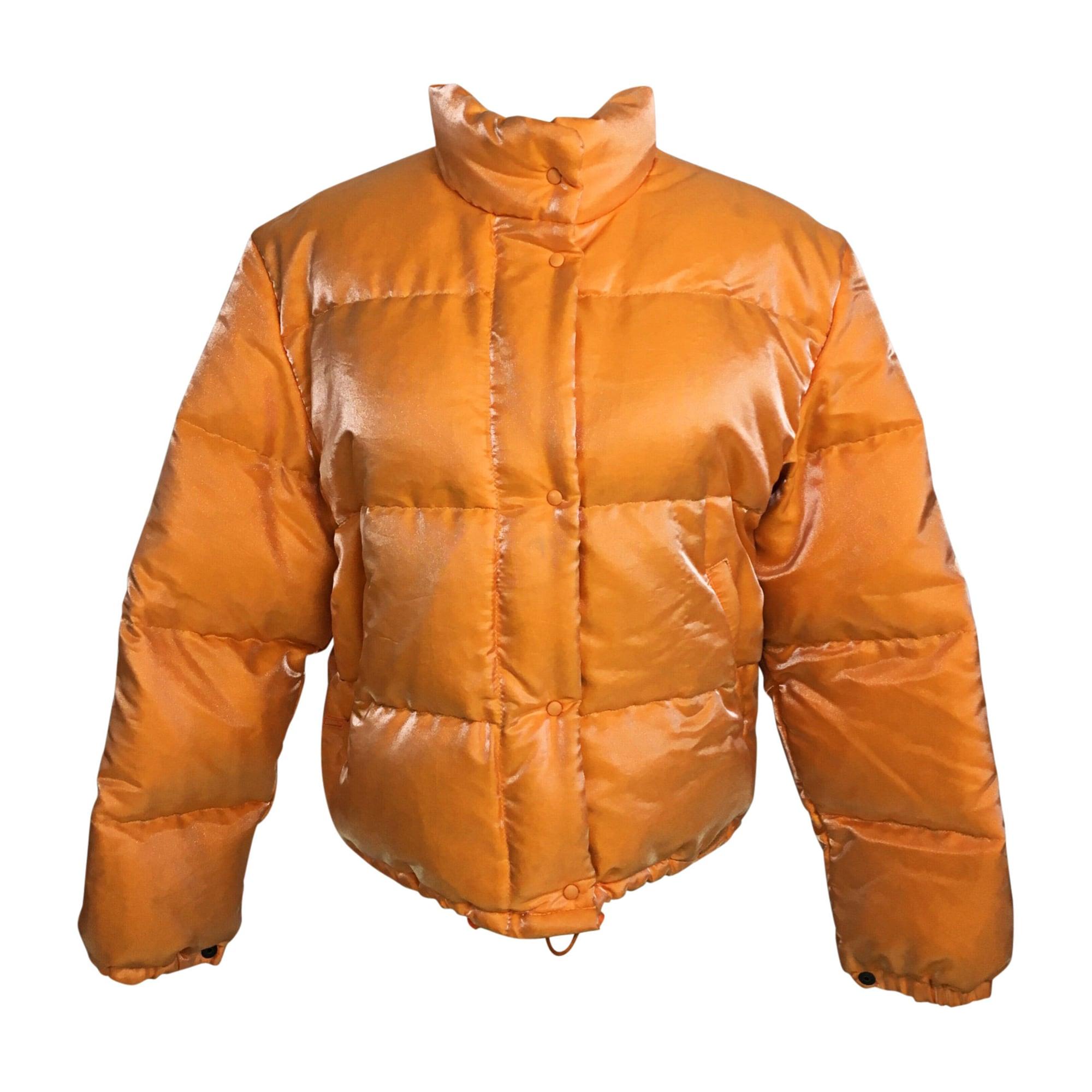 Doudoune MONCLER 36 (S, T1) orange - 8570922 d8eb4449783