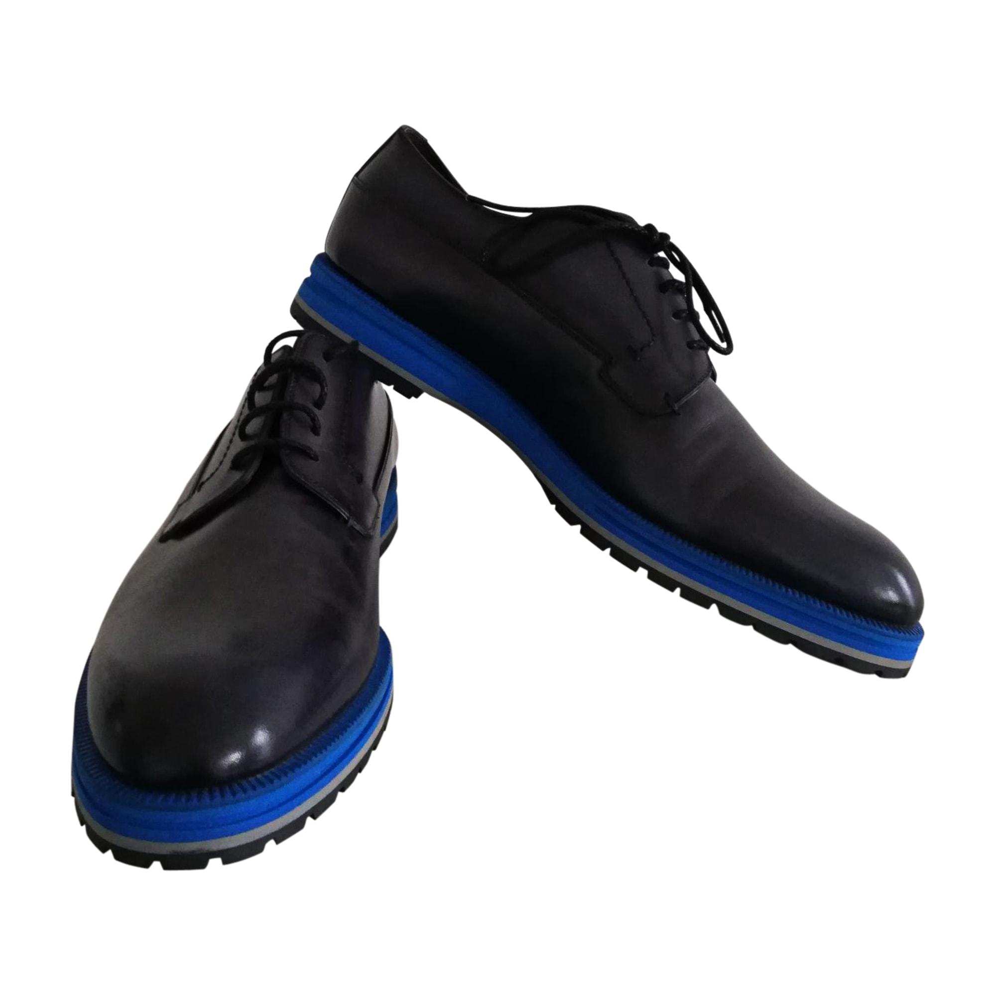 Chaussures à lacets BERLUTI Bleu, bleu marine, bleu turquoise