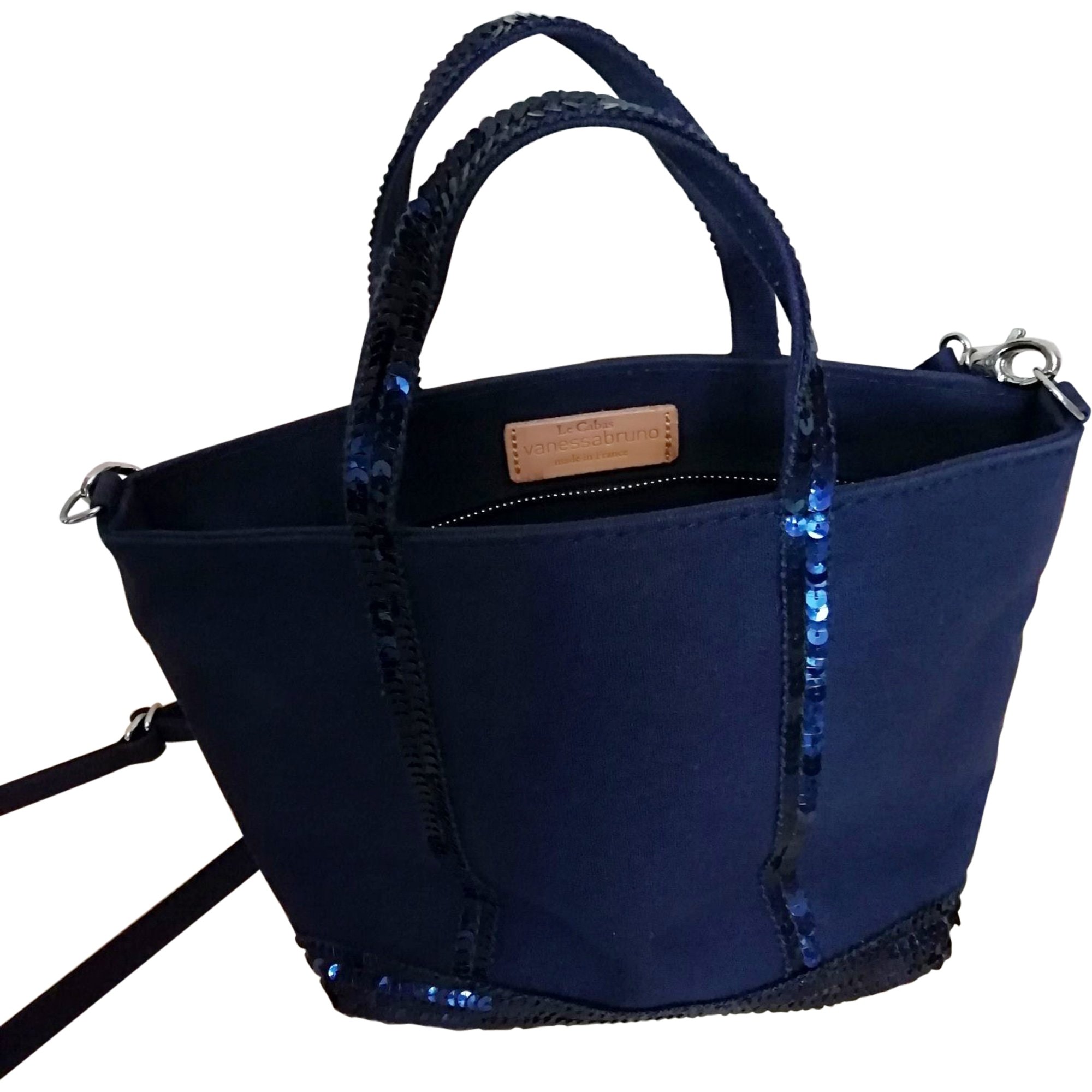 Non-Leather Shoulder Bag VANESSA BRUNO Blue, navy, turquoise