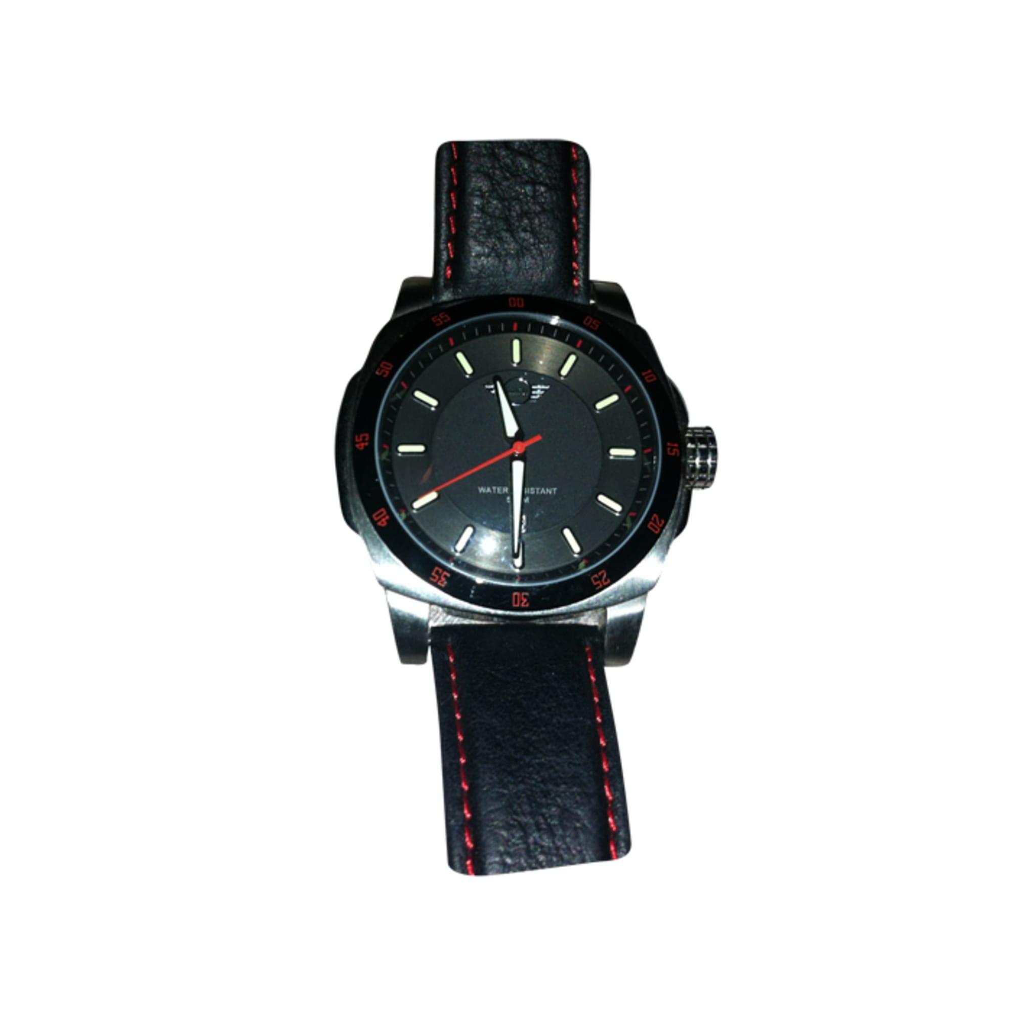 armbanduhr mini cooper schwarz vendu par lnb37112 857721. Black Bedroom Furniture Sets. Home Design Ideas