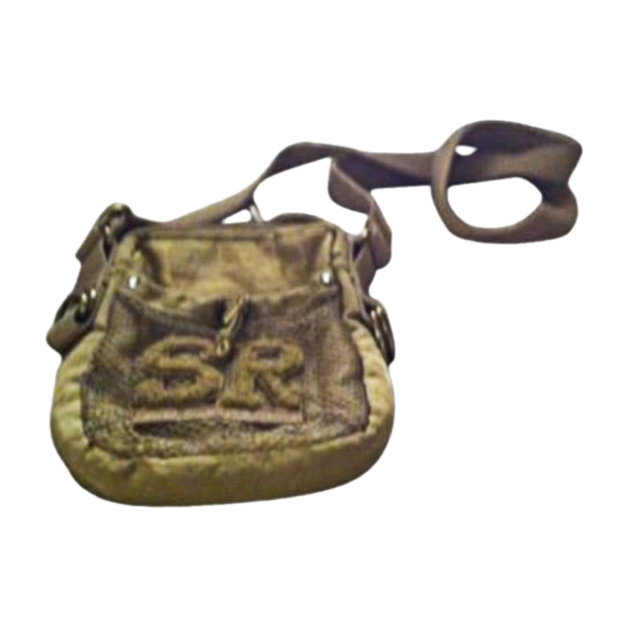 Non-Leather Shoulder Bag SONIA RYKIEL Golden, bronze, copper