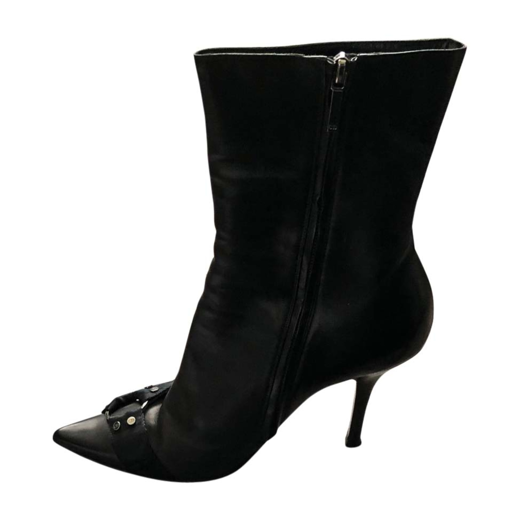 Bottines & low boots à talons DIOR Noir
