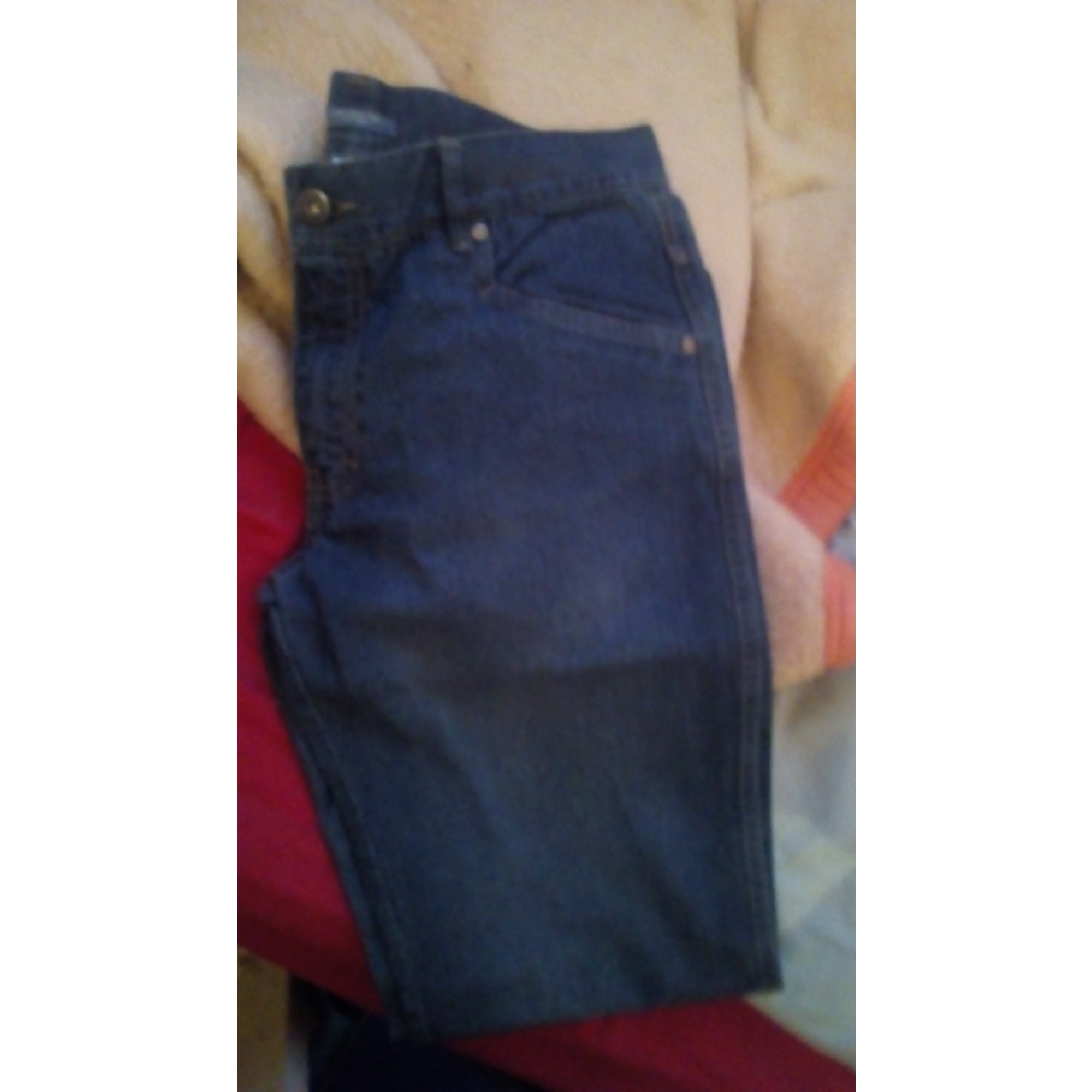 Jeans droit LA REDOUTE Bleu, bleu marine, bleu turquoise
