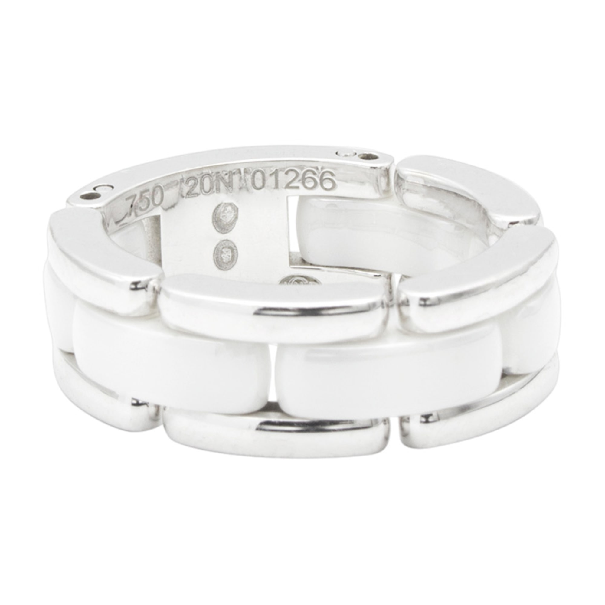 Ring CHANEL Ultra White, off-white, ecru