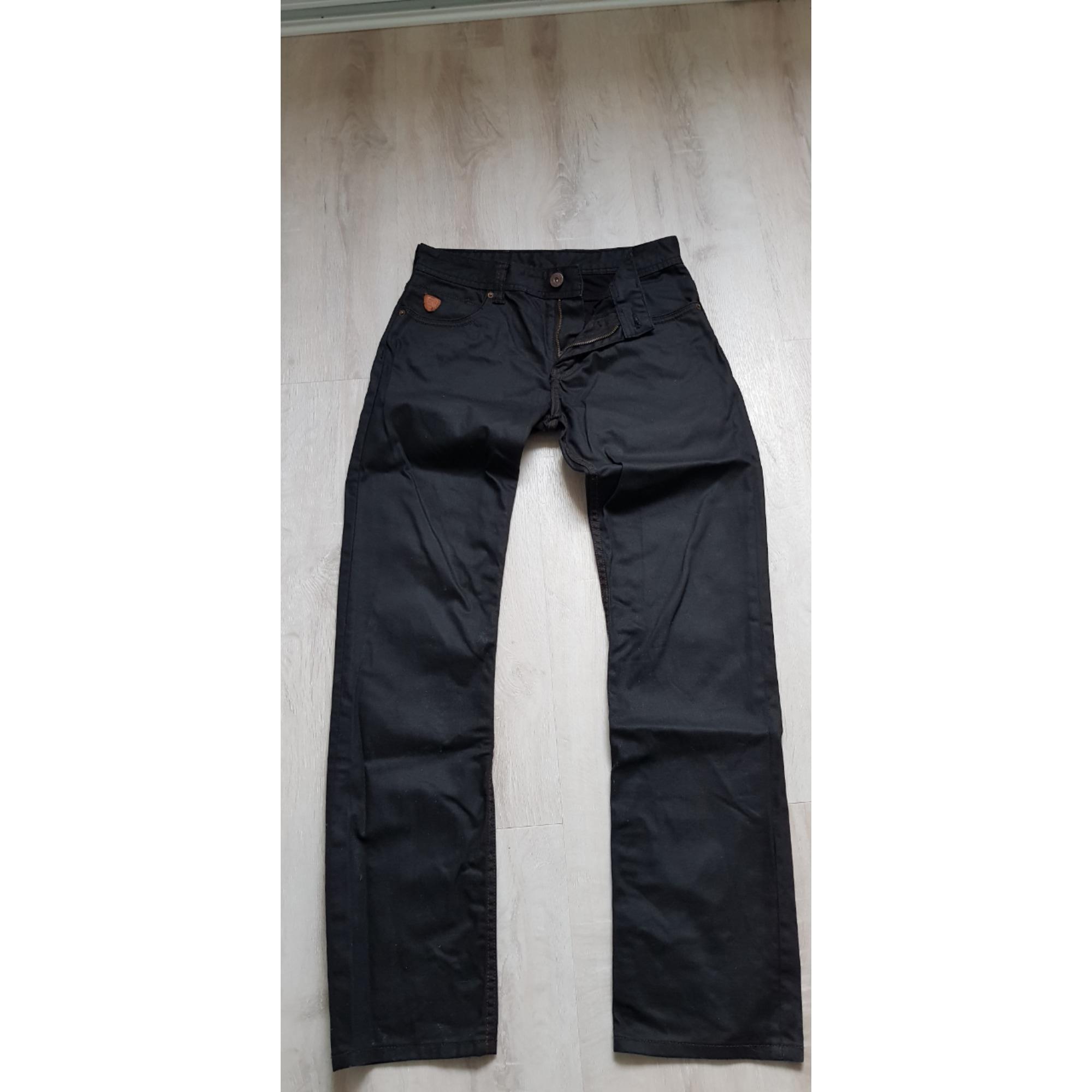 Jeans droit REDSKINS Noir
