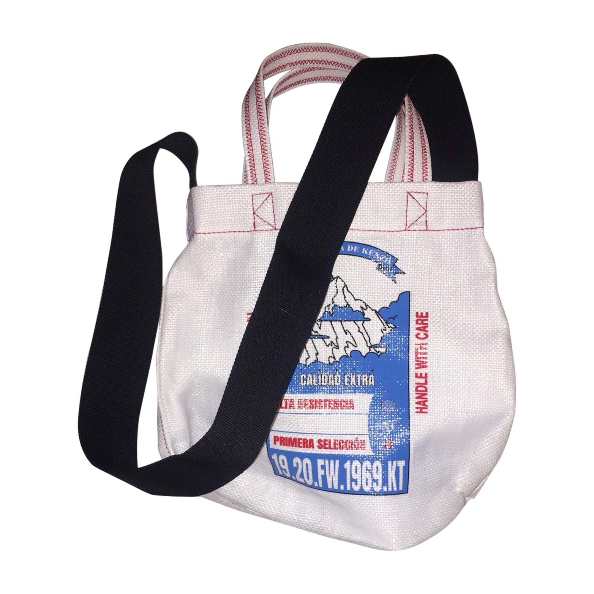 Non-Leather Handbag KENZO White, off-white, ecru